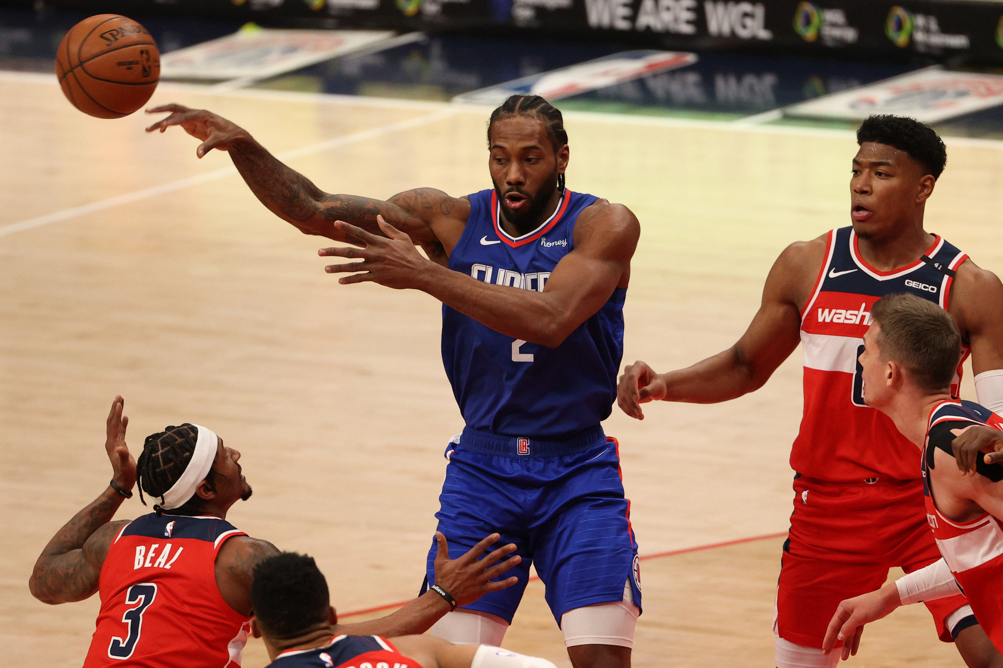 Los Angeles Clippers ace Kawhi Leonard is aiming to represent the United States at the Tokyo 2020 Olympics ©Getty Images
