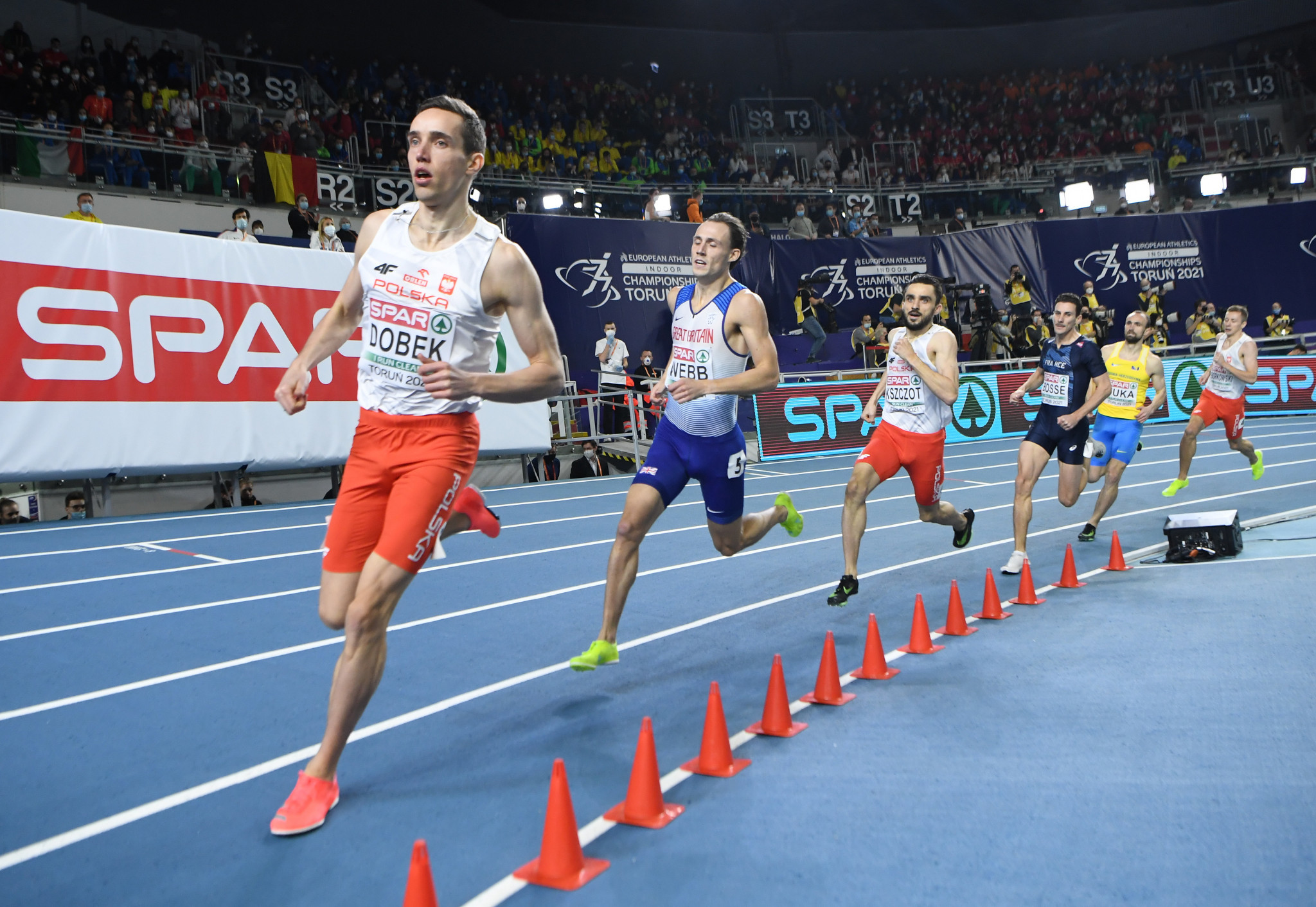 Members of the EOC visited Torun in Poland for the recent European Athletics Indoor Championships ©Getty Images