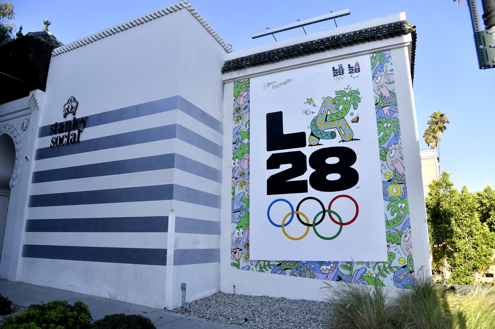 The public safety Cooperative would help to organise law enforcement resources during the Los Angeles 2028 Olympic and Paralympic Games ©Getty Images