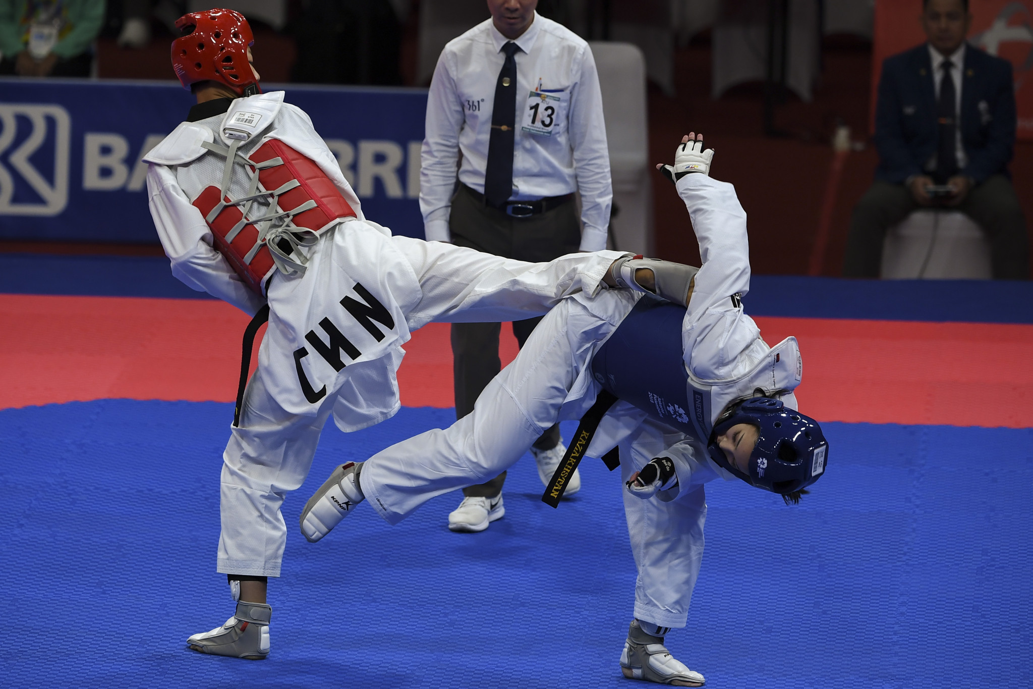 Chinese Taekwondo and Karate Association President Guan discusses Tokyo 2020 preparations