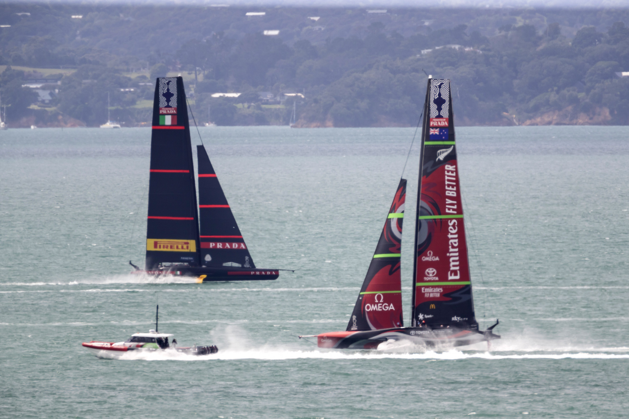 Team New Zealand to go up against Luna Rossa in America's Cup