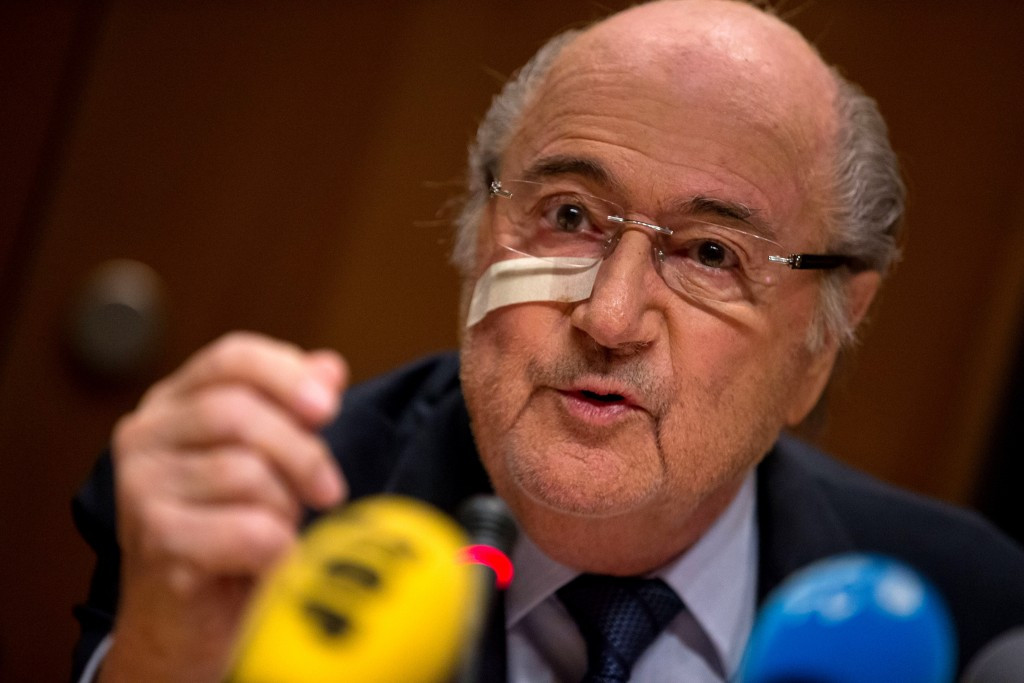 Banned FIFA President Sepp Blatter is still receiving his salary despite being given an eight-year suspension ©Getty Images