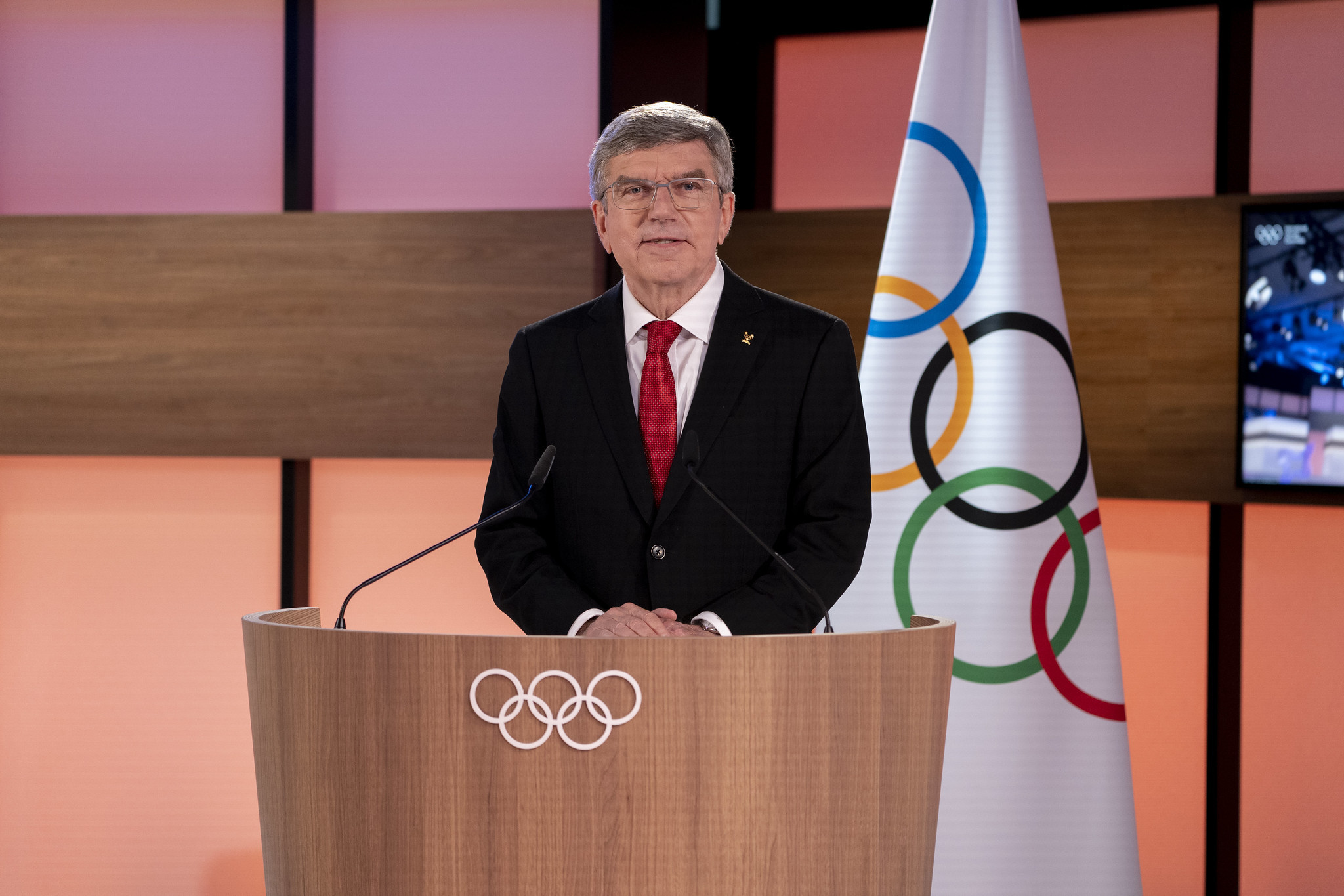 Bach re-elected International Olympic Committee President