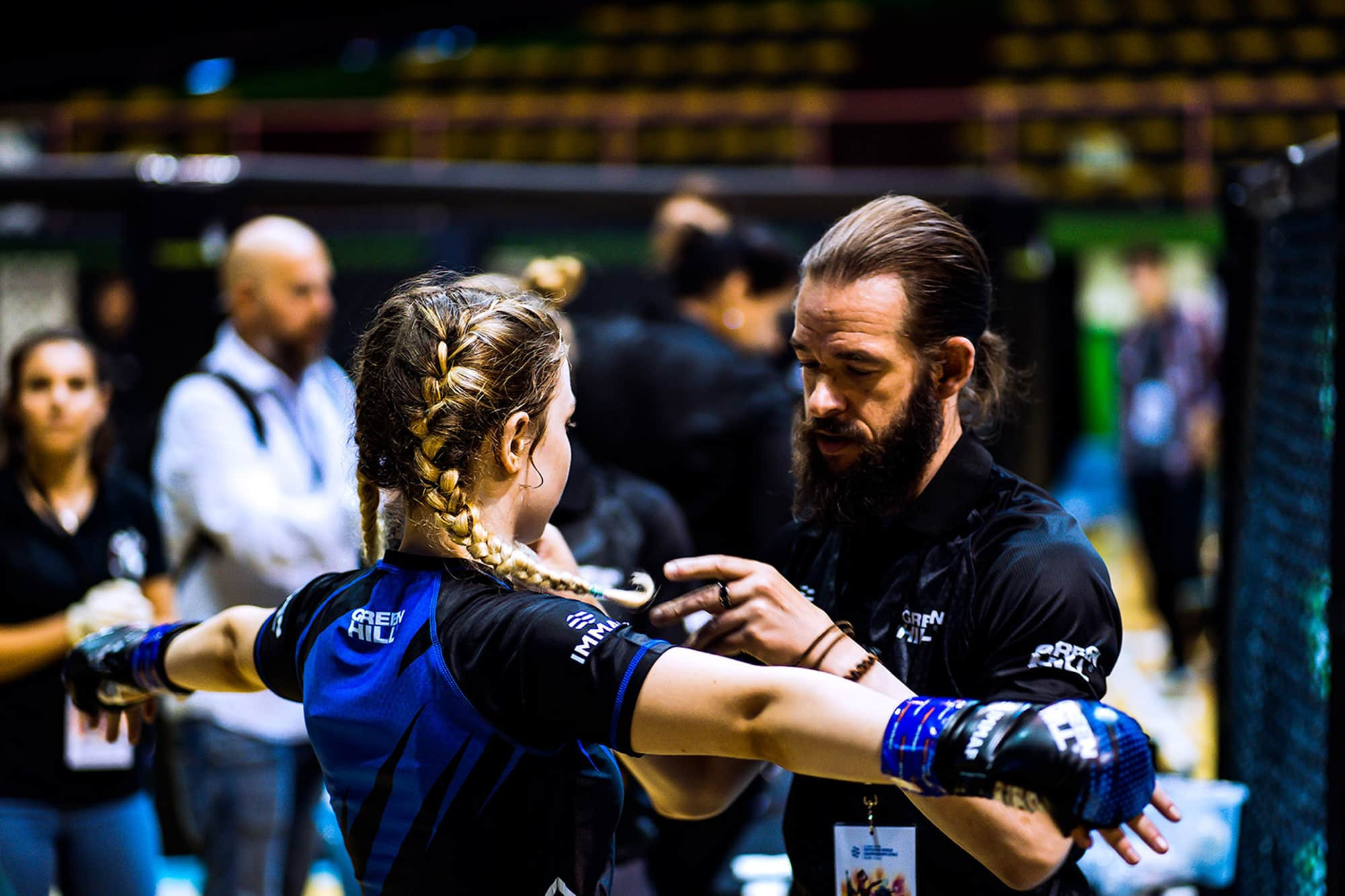 Youth development plays a large part in IMMAF's ambitions to grow mixed martial arts ©IMMAF