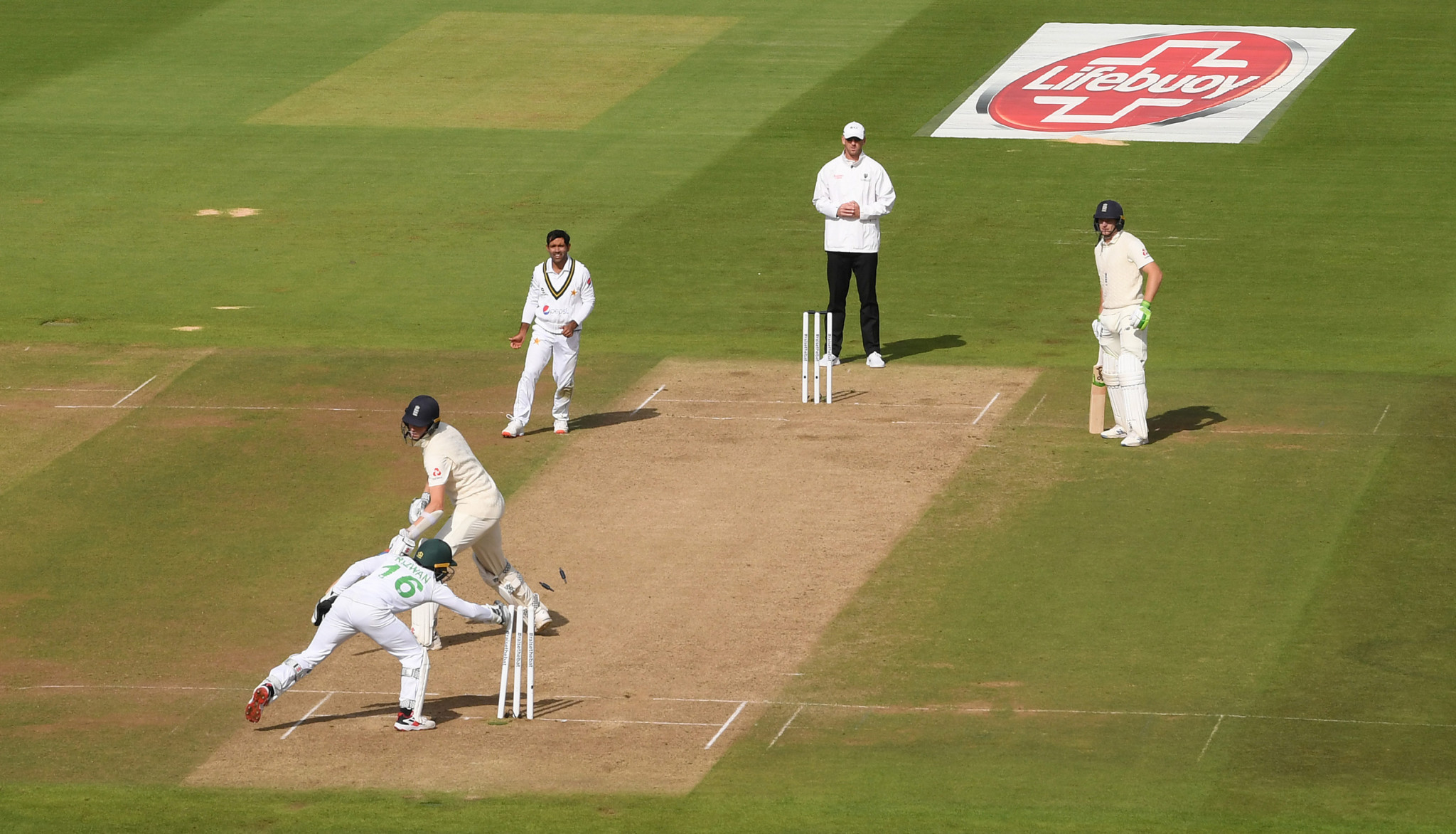 England and Pakistan played Test matches last year at Souhampton's Ageas Bowl in a secure bio bubble ©Getty Images