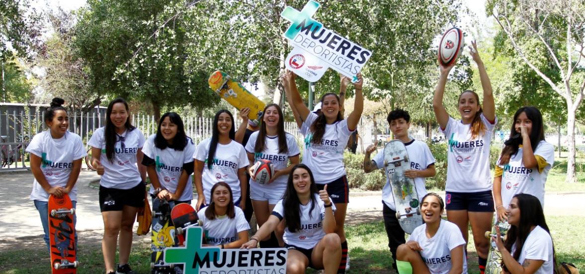 El Comité Olímpico de Chile espera promover la igualdad de género en todos los deportes © COCH