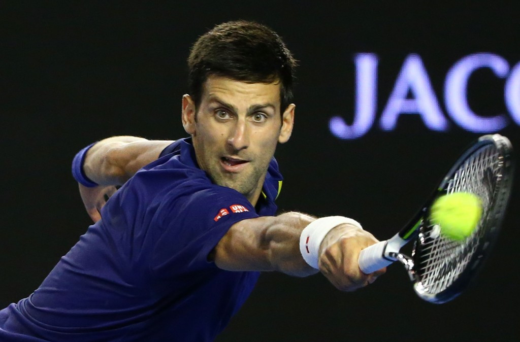 Men's top seed Novak Djokovic earned a straight sets victory against France's Quentin Halys