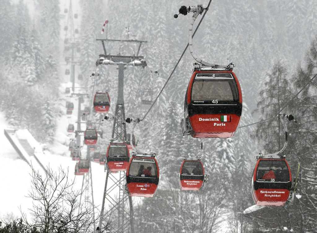 Kitzbühel is among those European skiing resorts hoping for an upsurge in Chinese tourist interest because of the Beijing 2022 Winter Olympics and Paralympics ©Getty Images