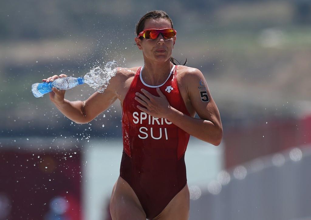 Switzerland's Nicola Spirig won the European Games gold medal in Baku ©Getty Images