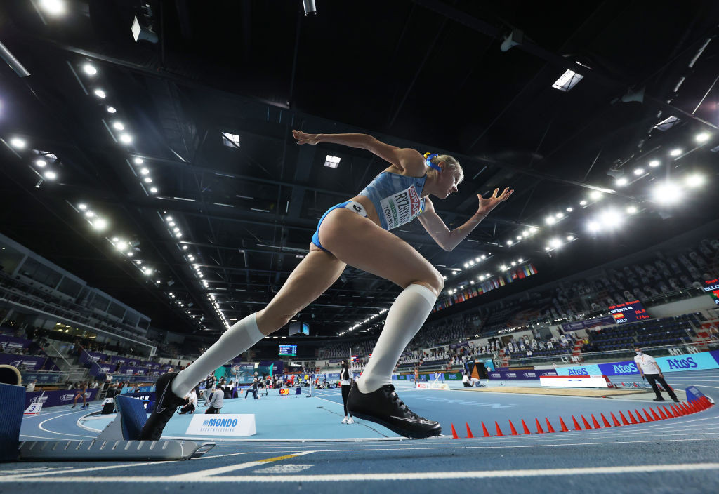 Anna Ryzhykova is one of four female Ukrainian athletes obliged to quarantine in Poland after the European Athletics Indoor Championships in Torun following positive COVID-19 tests ©Getty Images