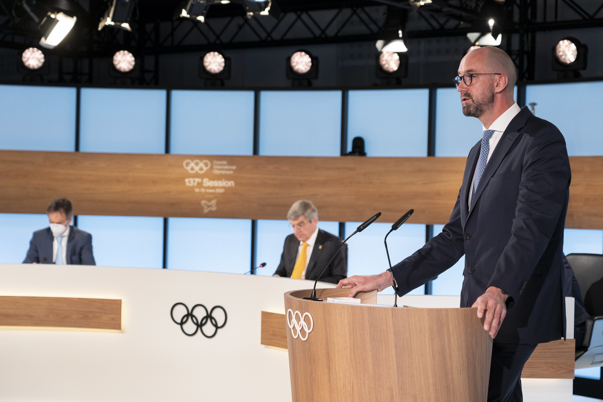 An update was provided on the Refugee Olympic Team prior to Tokyo 2020 ©IOC