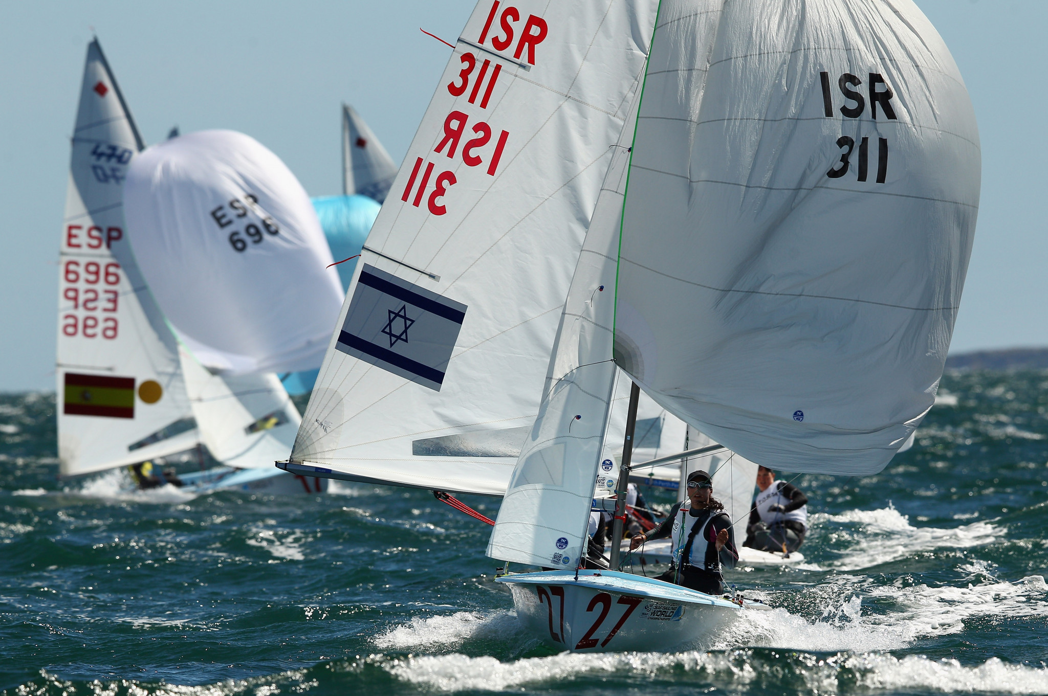 Israel back in front in mixed class at 470 World Championship