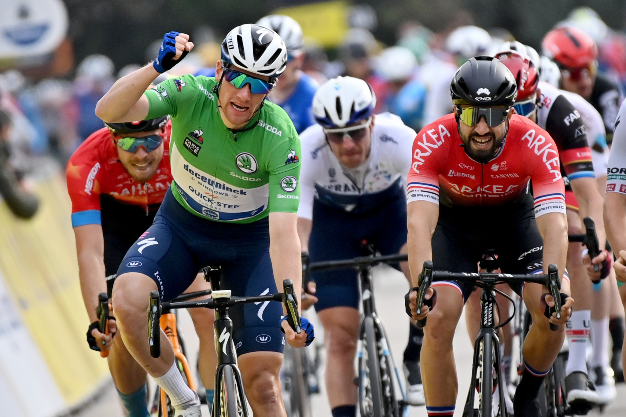 Bennett secures second win of 2021 Paris-Nice with stage five victory