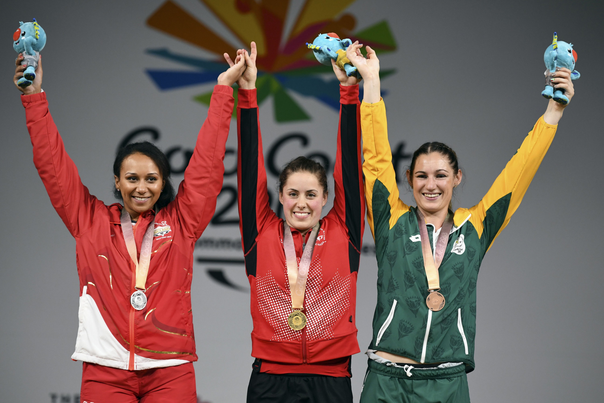 Mona Pretorius, right, is a Commonwealth Games bronze medallist ©Getty Images