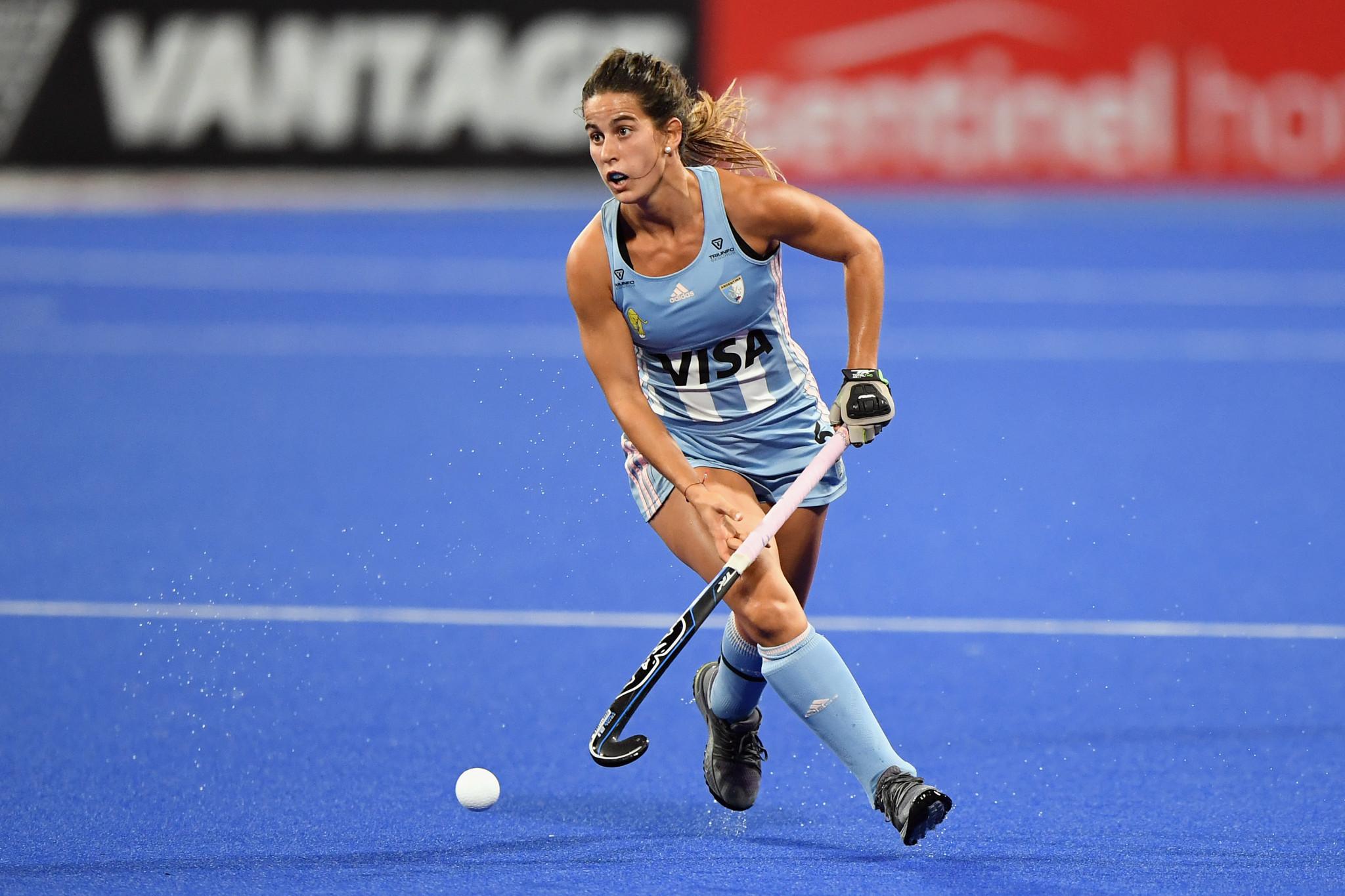 Argentina ocupa actualmente el segundo lugar en la Pro League de Hockey Femenino © Getty Images