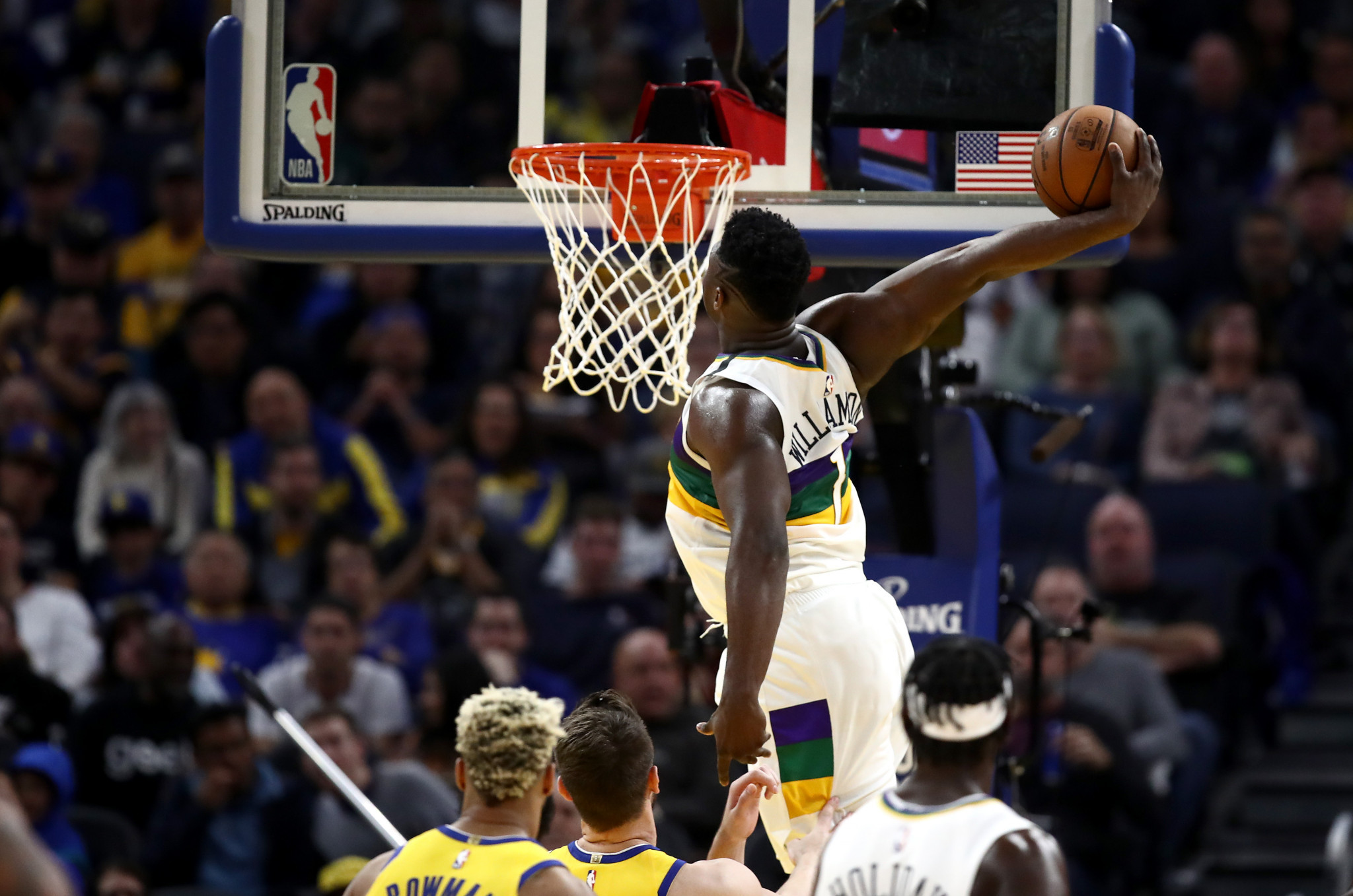 Zion Williamson, still only 20, could be the youngest US Olympic basketball player since Anthony Davis at London 2012 ©Getty Images