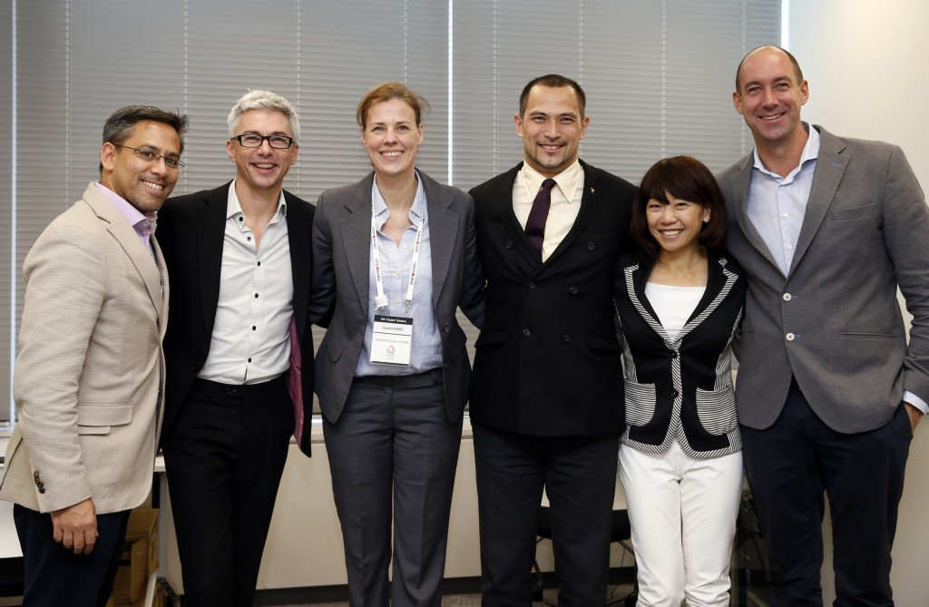 Edwards and Bokel attend Tokyo 2020 Athletes' Commission workshop