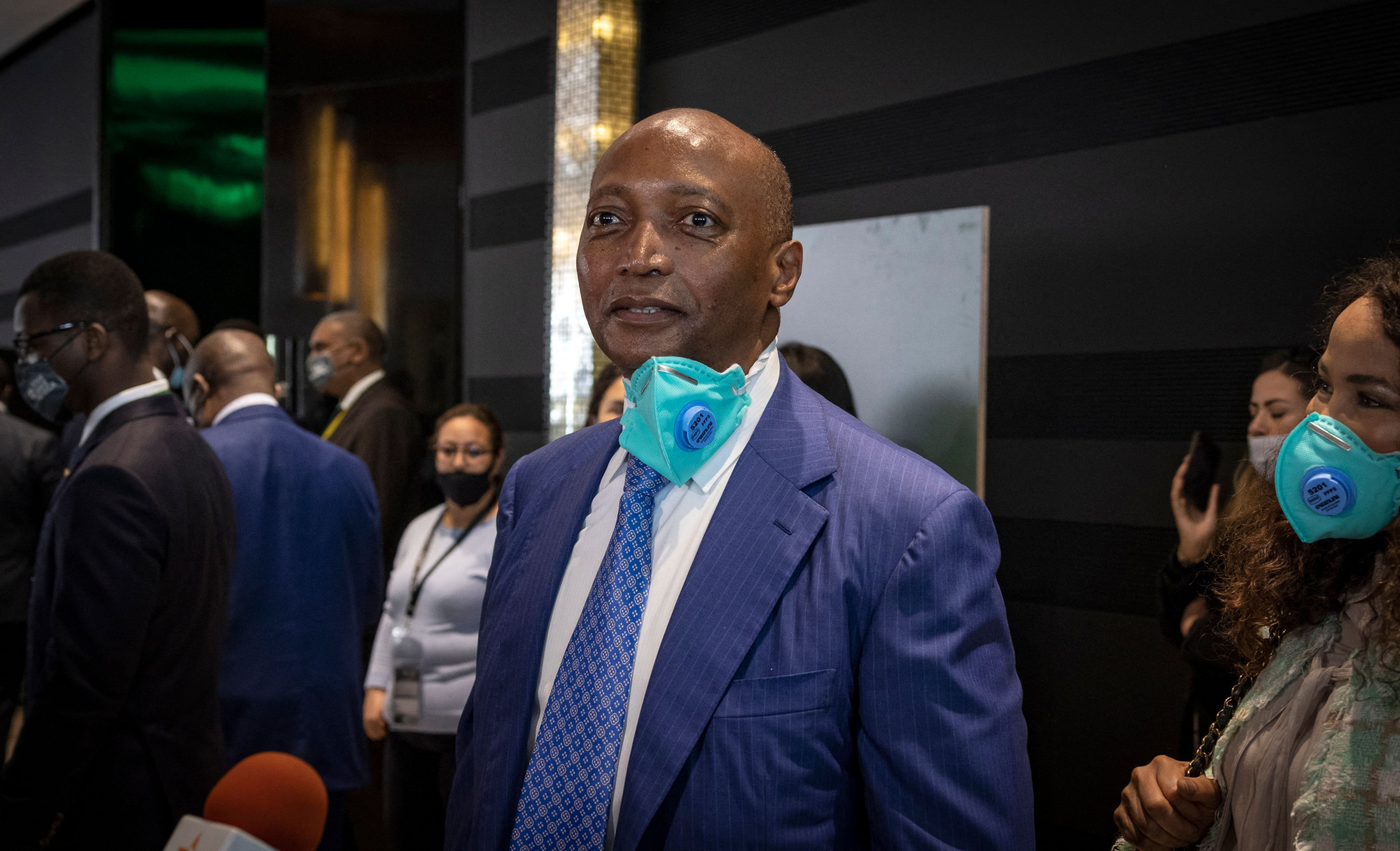 Patrice Motsepe was elected unopposed at the CAF General Assembly ©Getty Images