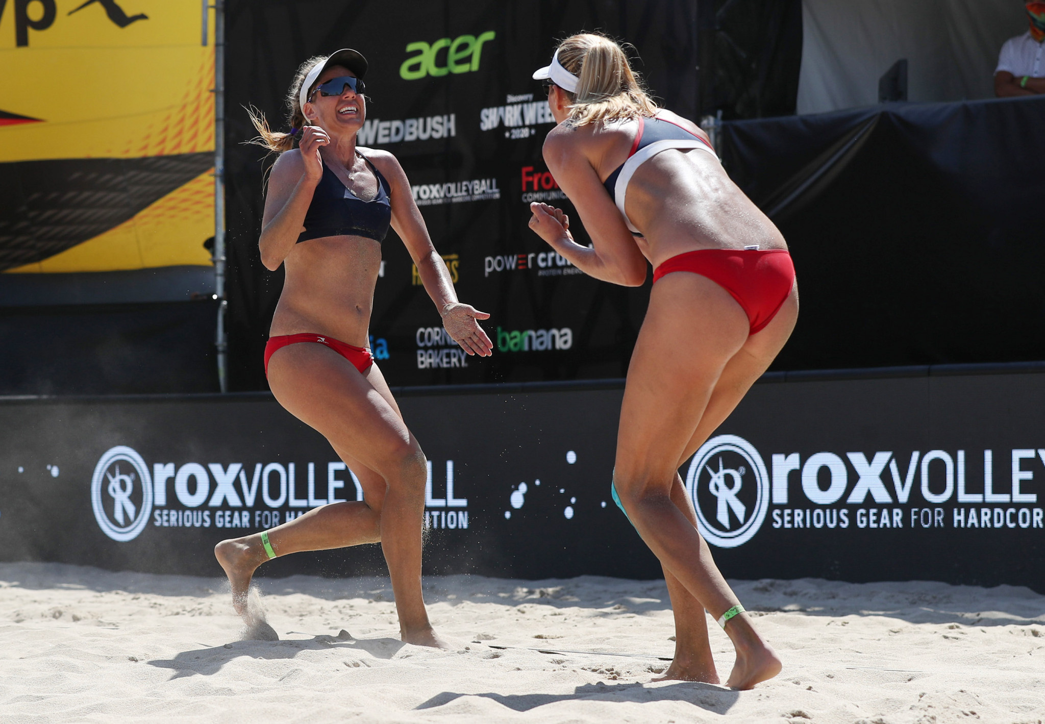 Alix Klineman and April Ross of the United States were the winners in the women's contest ©Getty Images
