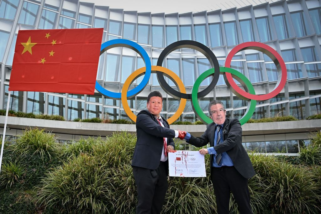 Human rights groups have criticised the IOC for its stance on China ©Getty Images