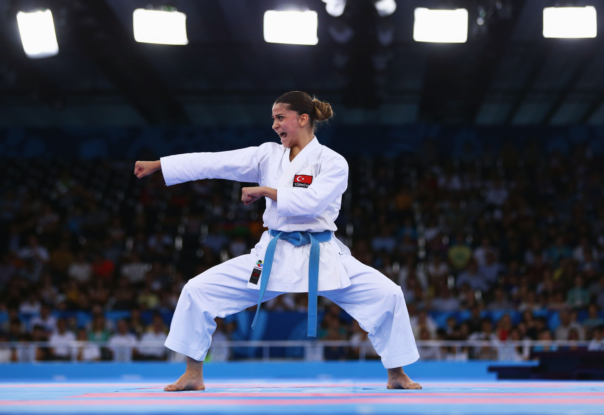 Turkish delight as home athletes enjoy success on opening day of Karate-1 Premier League in Istanbul