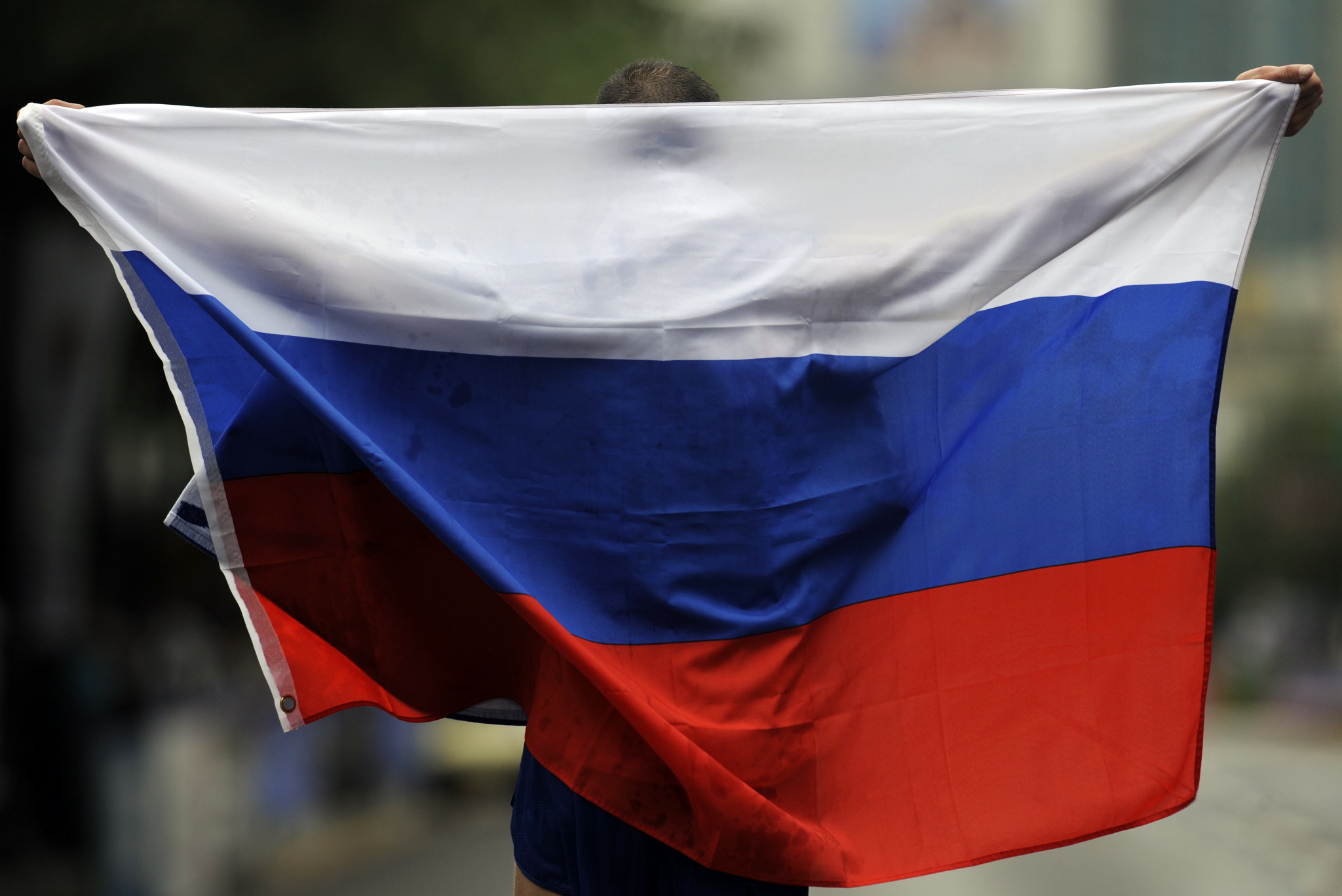 Russia's flag will be banned from all World Championships until December 2022 ©Getty Images