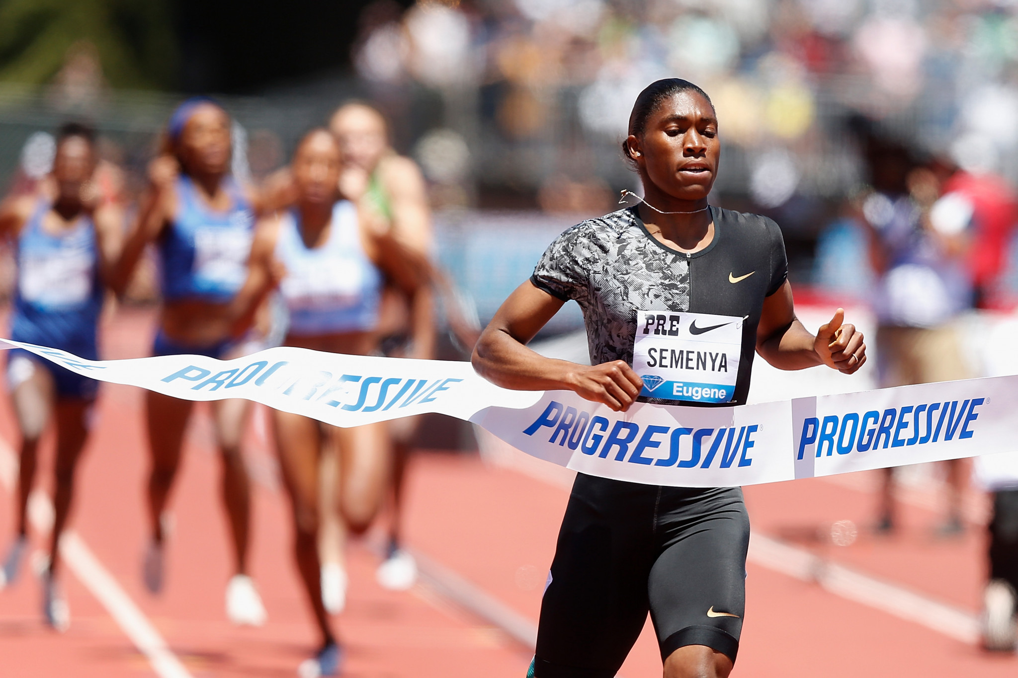 Caster Semenya is hoping to reverse a rule that would force her to take testosterone-suppressing medication to compete in her best events ©Getty Images