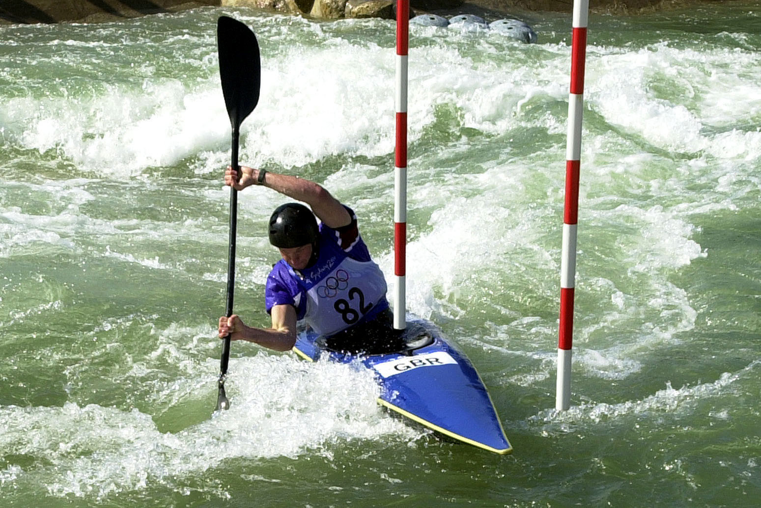 Penrith Whitewater Stadium hosted the canoe slalom contest at the Sydney 2000 Olympic Games ©Getty Images