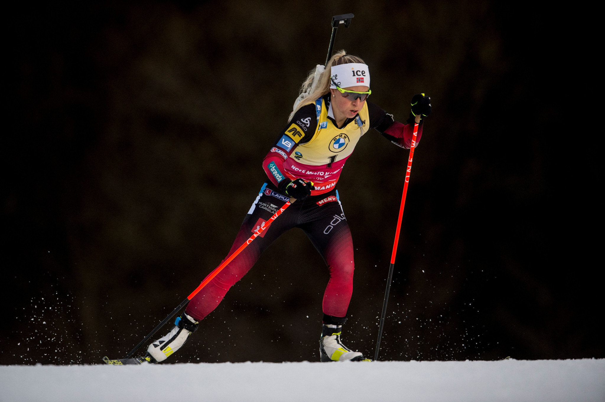 Tiril Eckhoff is a step closer to winning this season's IBU Biathlon World Cup ©Getty Images