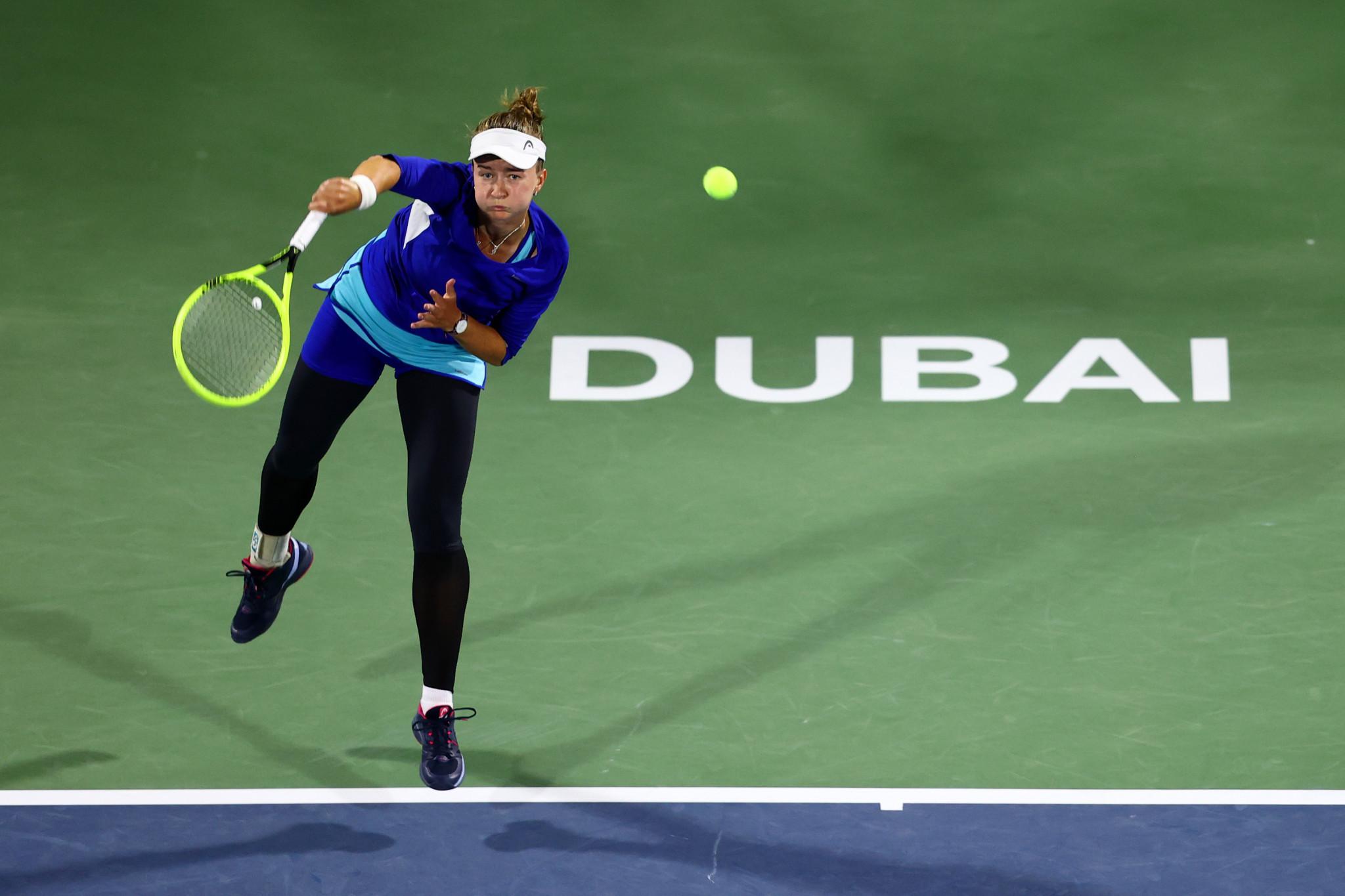Muguruza wins WTA Dubai Tennis Championships after beating Krejcikova