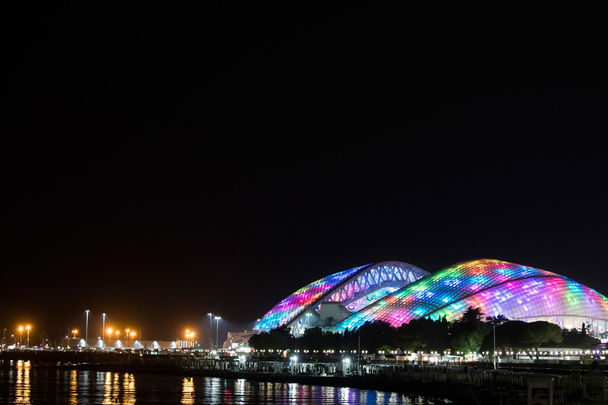 РМОУ находится в Сочи, где проходили Зимние Олимпийские игры 2014 года © Getty Images