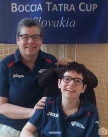 Boccia England players thank mums as part of Mother's Day campaign