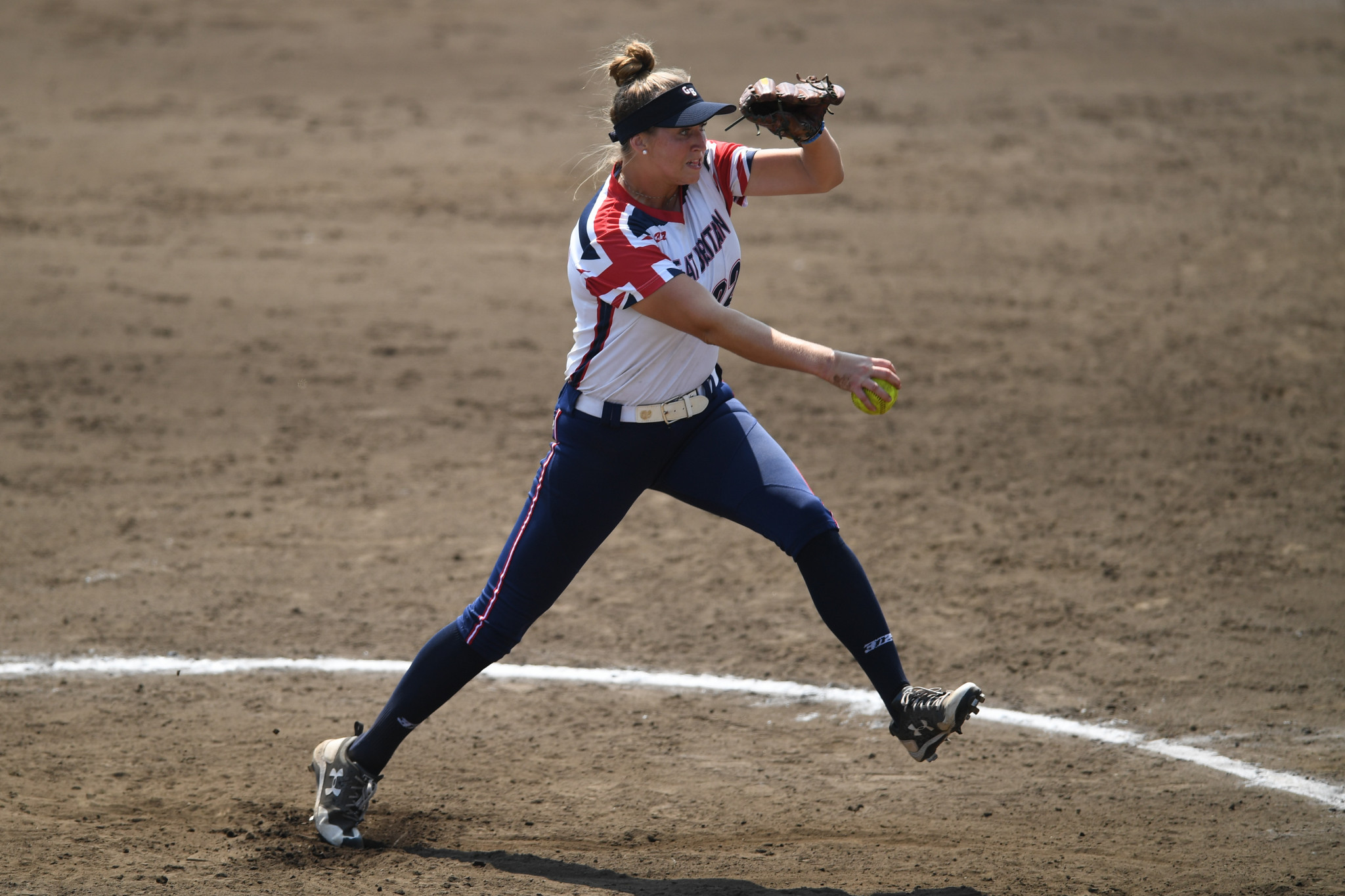 Britain's women's softball team is one of the best in Europe ©Getty Images
