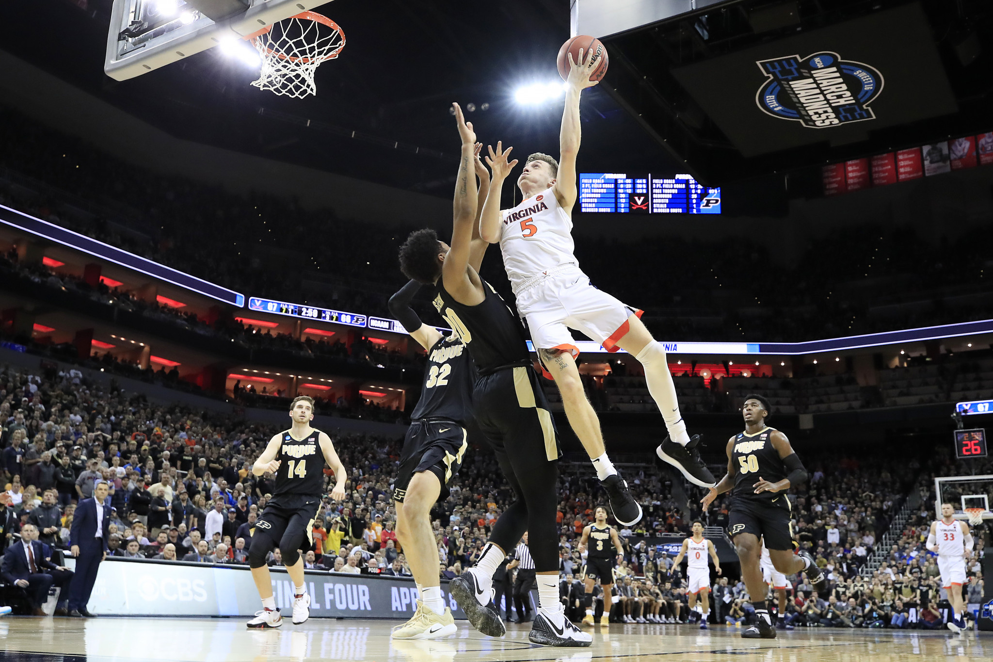Virginia defeated to Texas Tech to win the title in 2019 when the March Madness was last staged ©Getty Images
