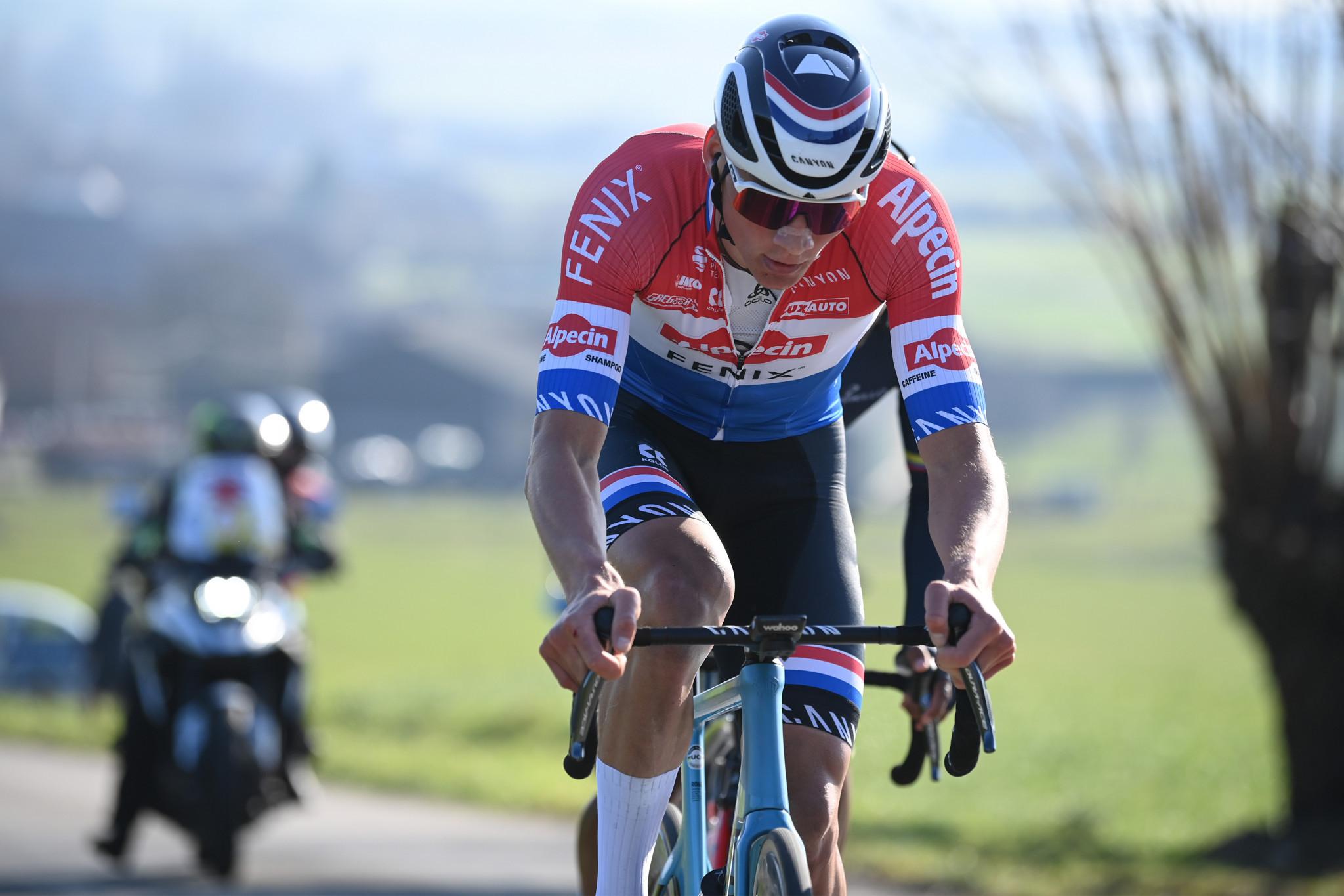 Out-of-contention Van der Poel wins stage five of Tirreno-Adriatico