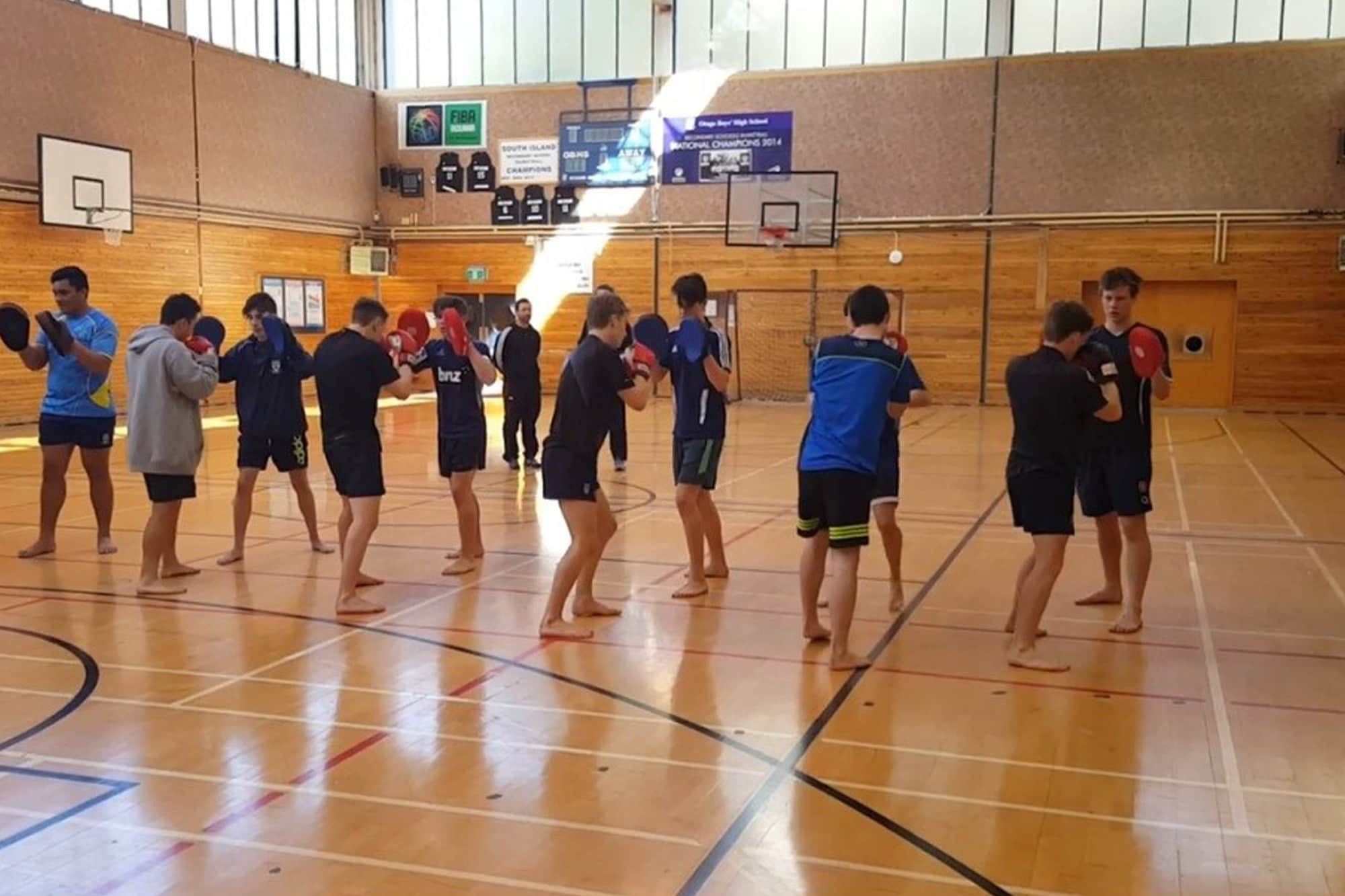 NZMMAF showcases MMA's physical and mental benefits in schools