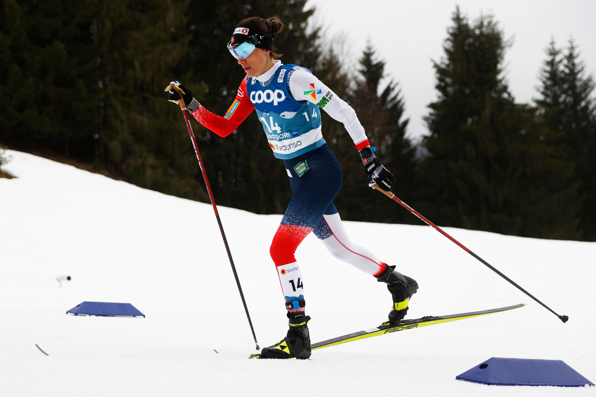 Hegstad Krueger and Weng win pursuit events as FIS Cross-Country World Cup season concludes