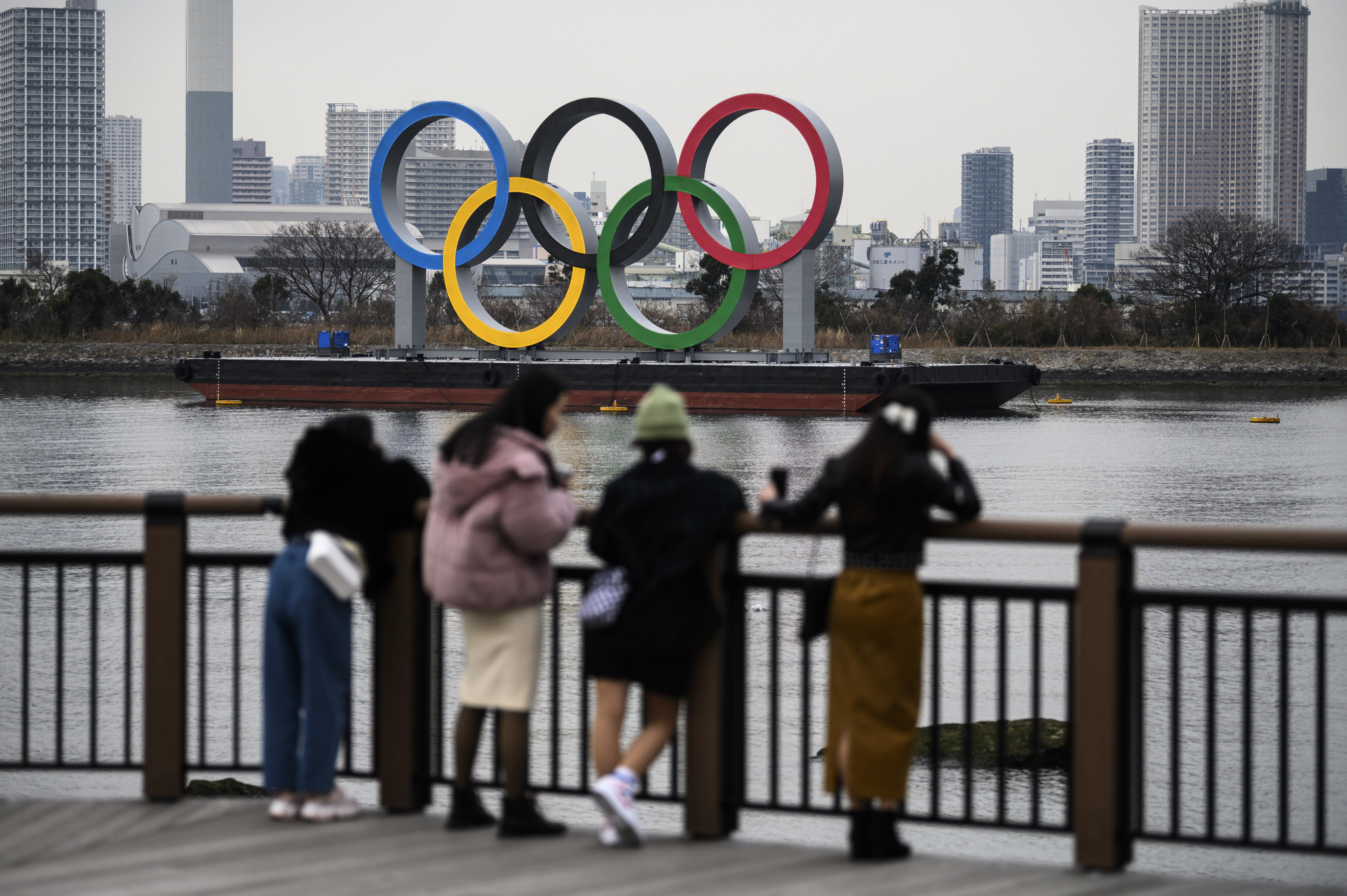 Several opinion polls have found that the Japanese public are not in favour of the Olympic Games going ahead this year ©Getty Images
