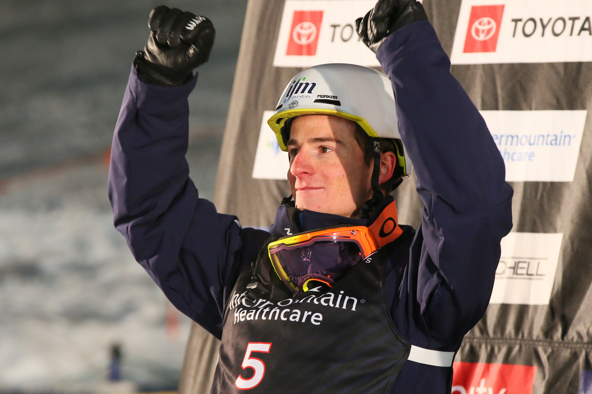 Graham wins crystal globe after cancellation of final FIS Moguls World Cup event