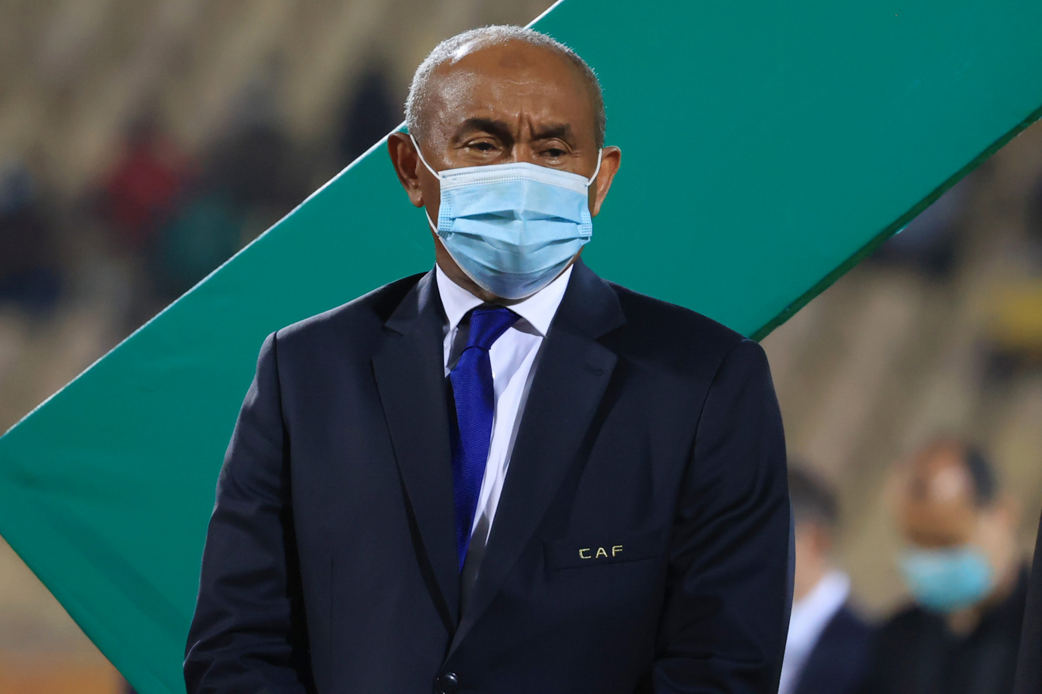 Despite an appeal to the Court of Arbitration for Sport, Ahmad appears on the way out as CAF President ©Getty Images
