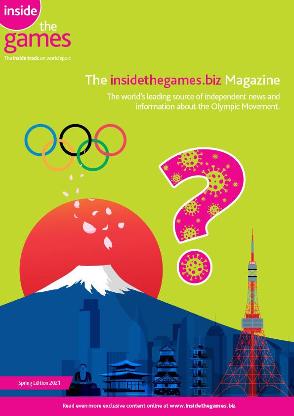 The insidethegames.biz Magazine Spring Edition 2021