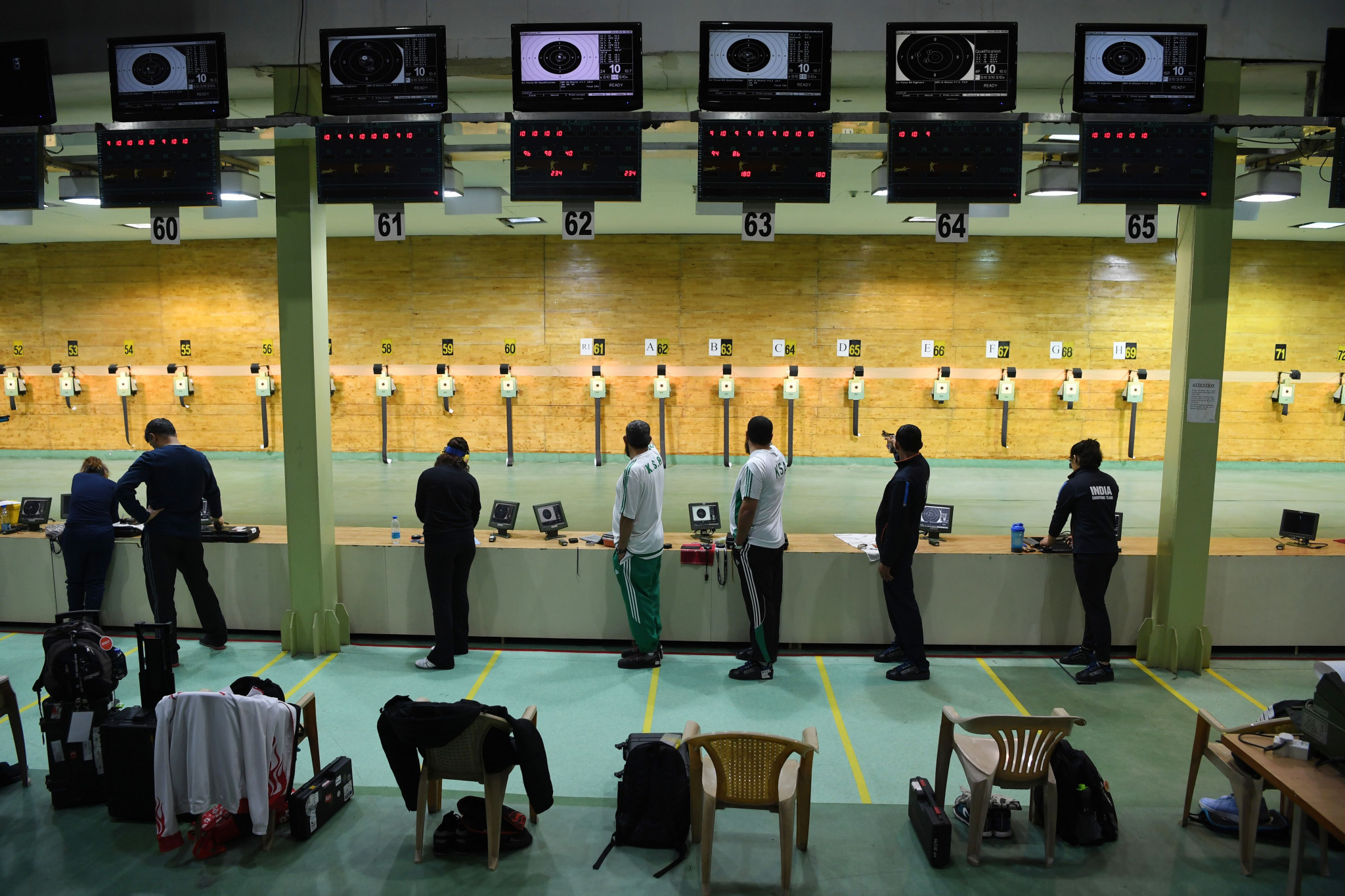 New Delhi has been on the ISSF World Cup calendar in four of the past five years ©Getty Images