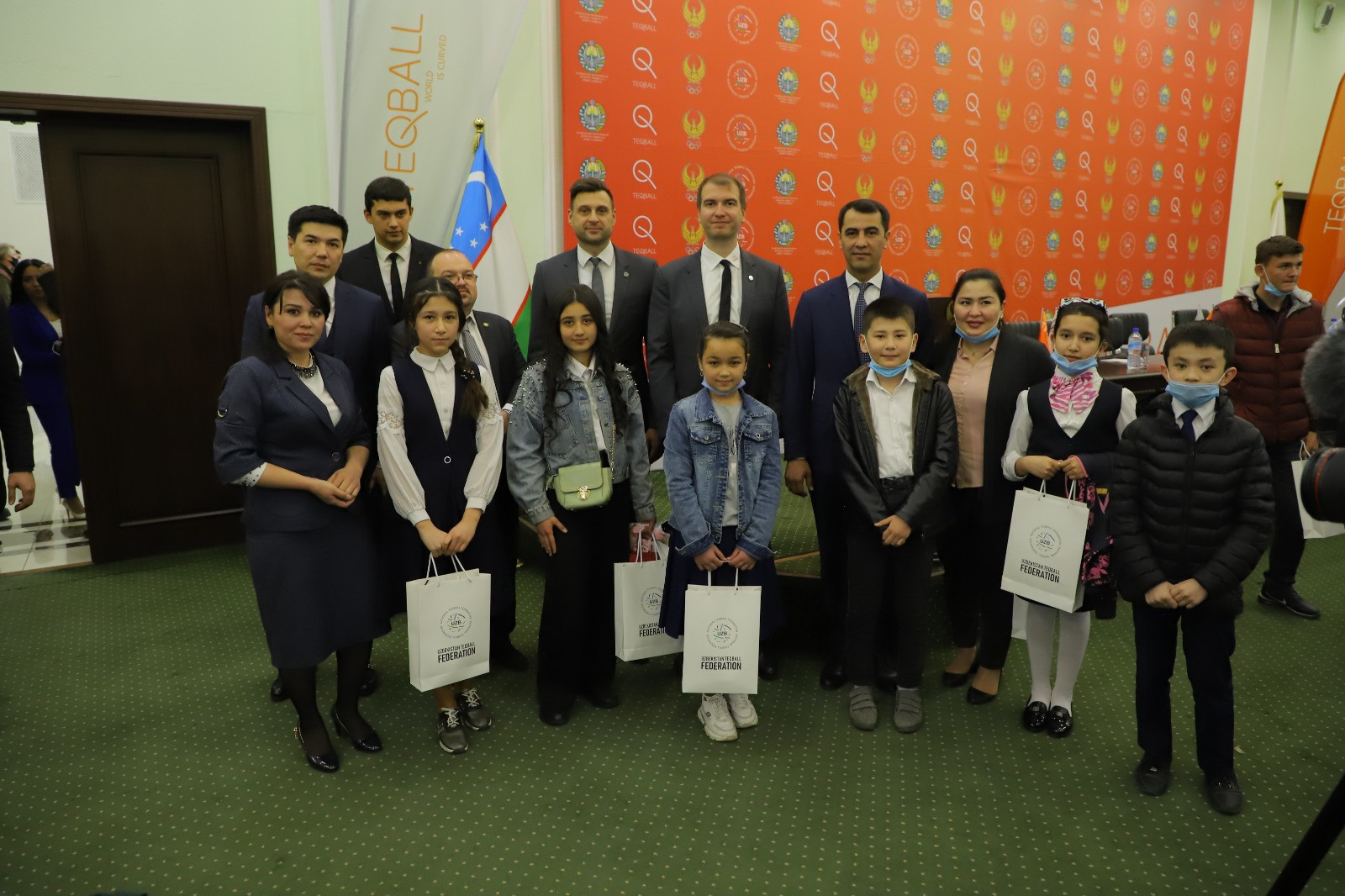 FITEQ's Teqball Roadshow has visited Uzbekistan ©FITEQ
