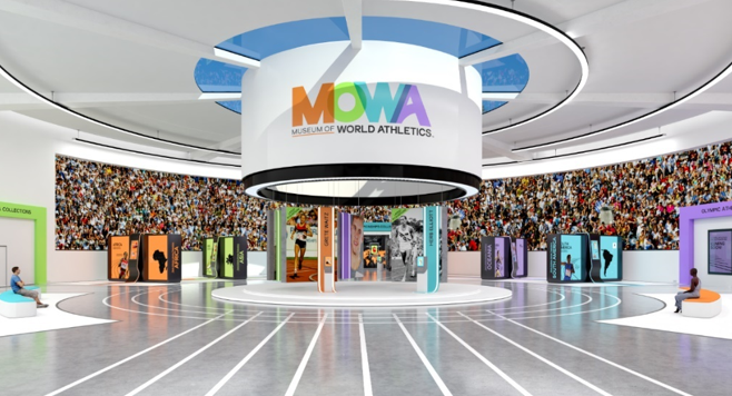 The cancellation of two World Athletics Heritage exhibitions last year due to the pandemic freed up a budget to establish the Museum Of World Athletics, which opened today ©MOWA