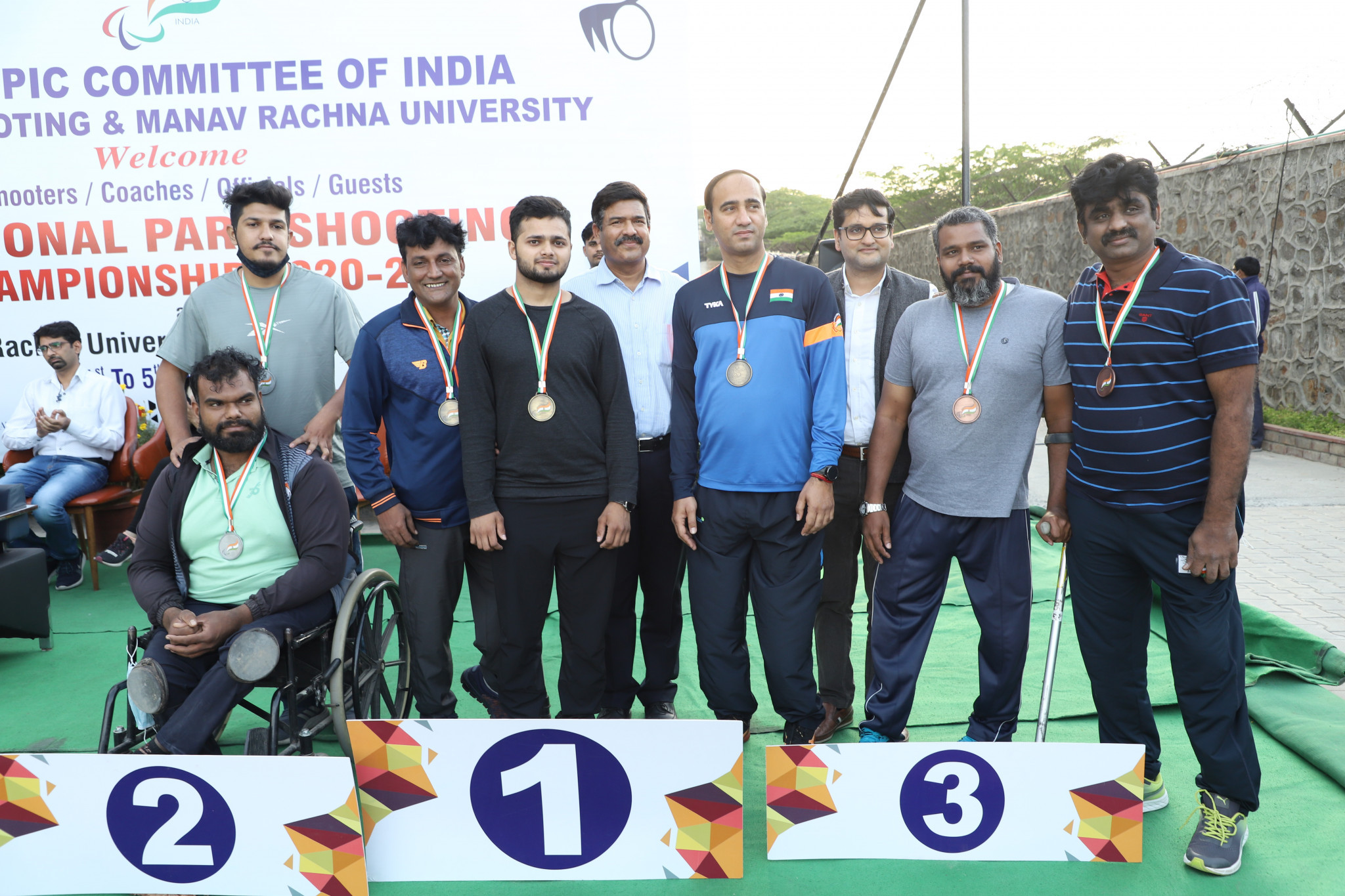 Indian Para-shooters Narwal and Lekhara win National Championship