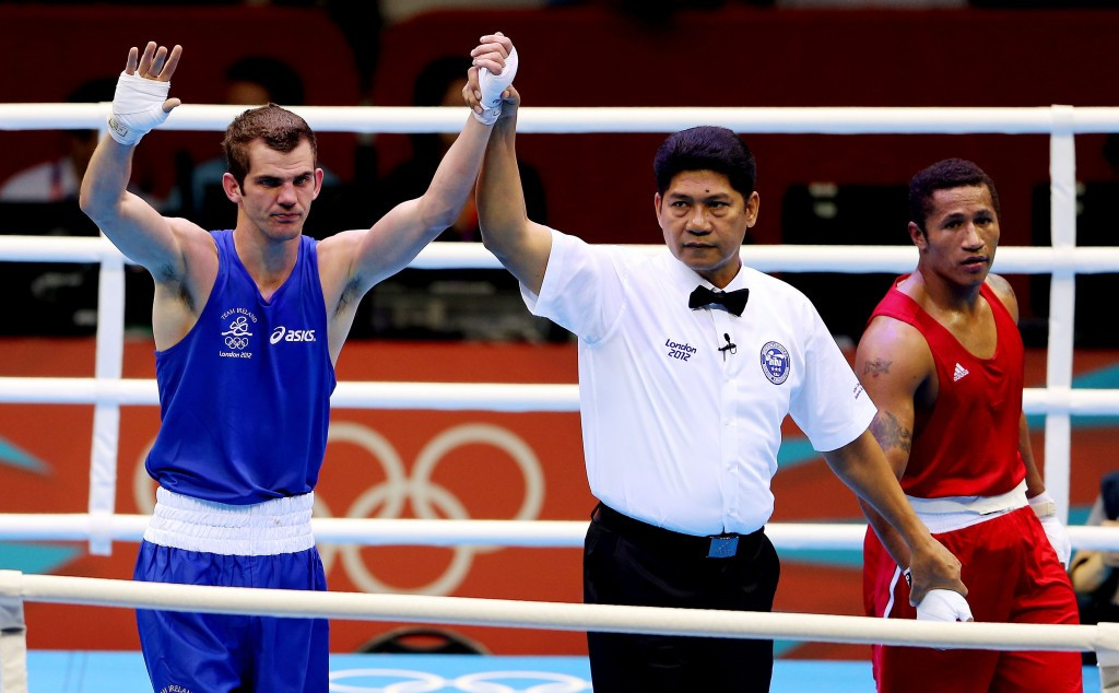 Irish boxing champion claims he feels let down by qualifying system for Rio 2016