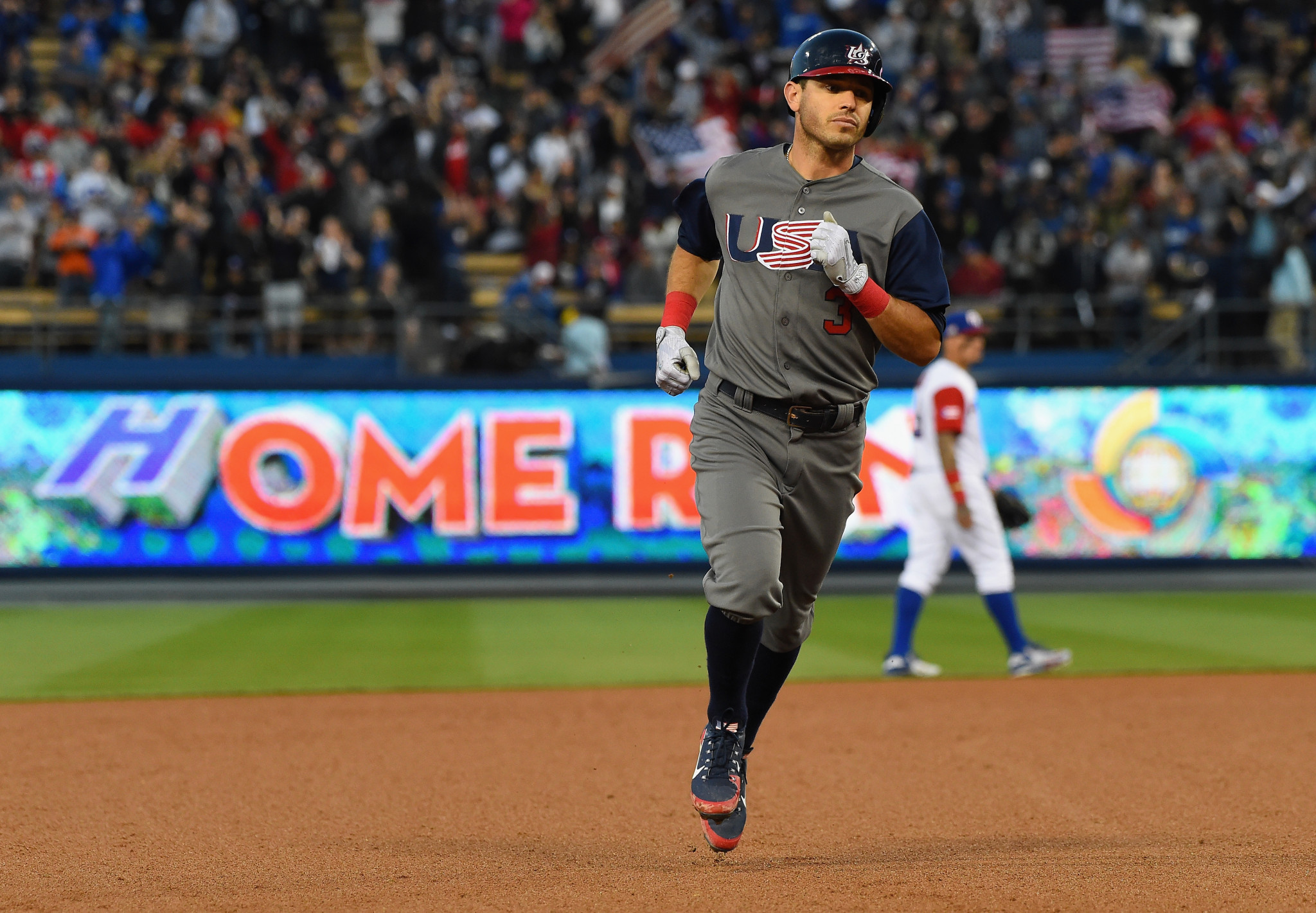 Ian Kinsler won the World Baseball Classic in 2017, playing for the United States ©Getty Images