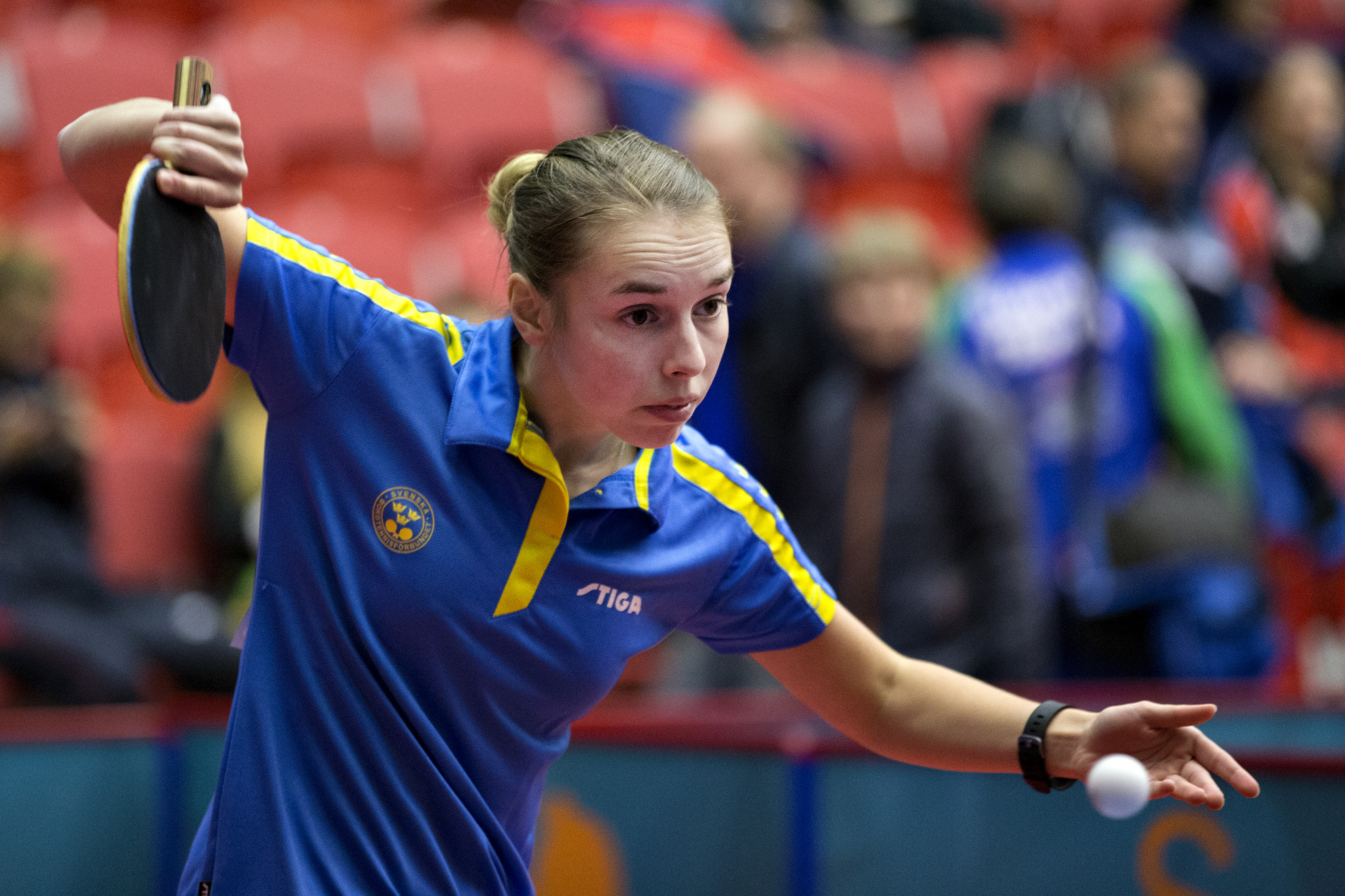 Linda Bergstrom is one of four female table tennis players to book their place at Tokyo 2020 today ©Getty Images