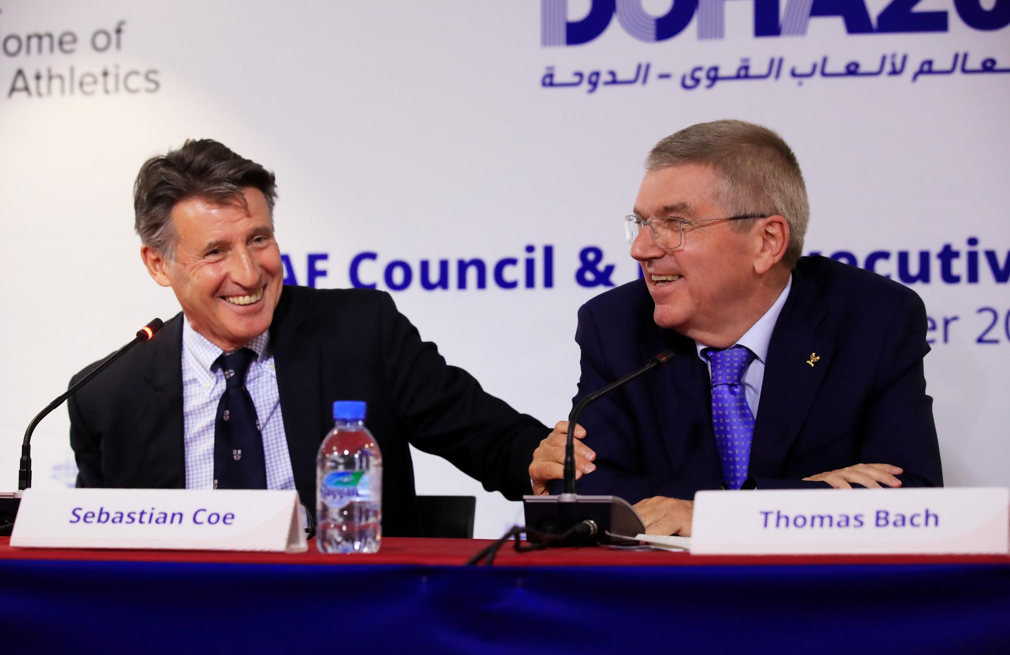 Sebastian Coe, head of the London 2012 Organising Committee, reckons