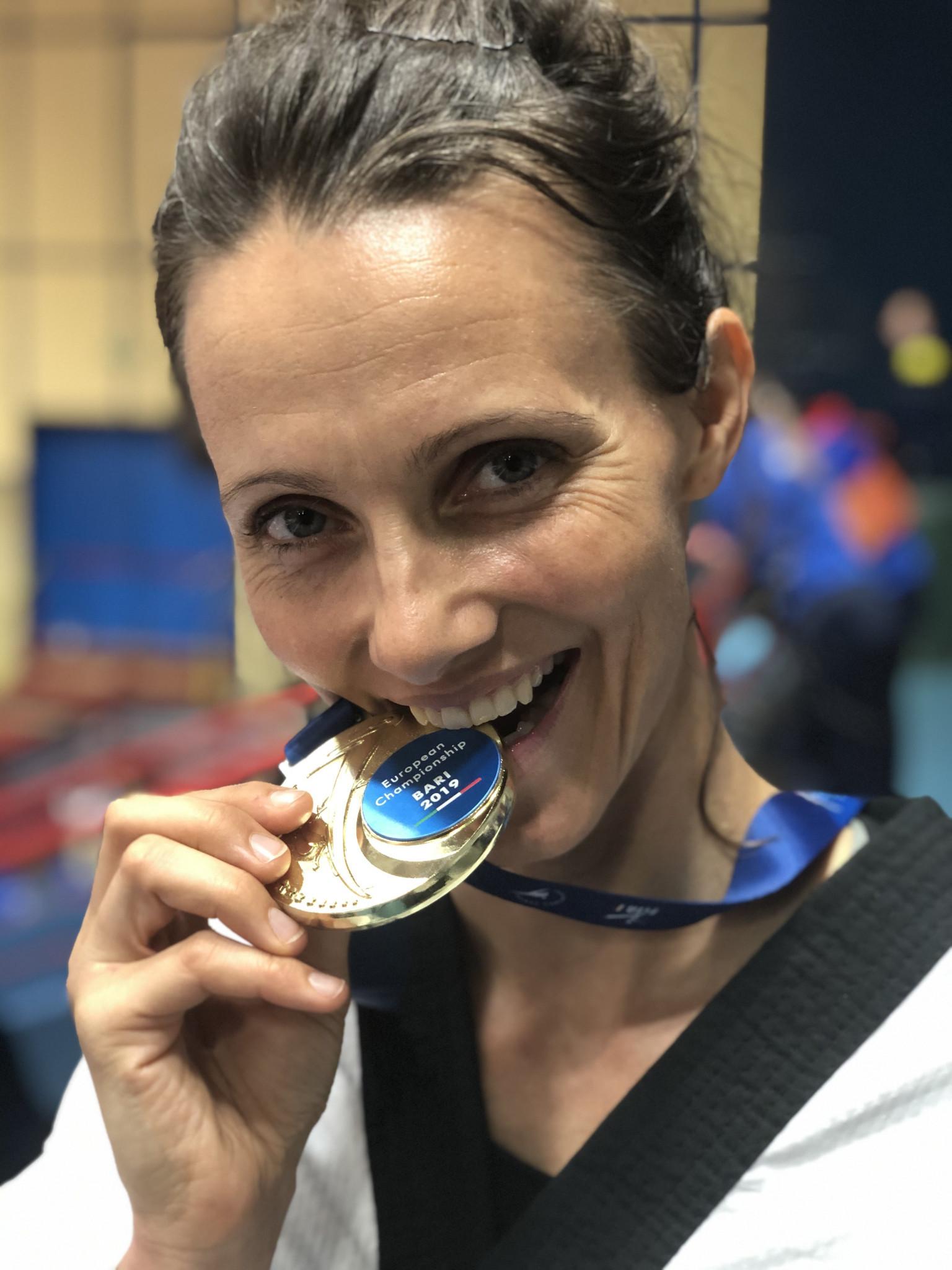 Para taekwondo player Lisa Kjær Gjessing is tipped to win a medal at this year's Tokyo 2020 Paralympic Games ©Danish Taekwondo Federation